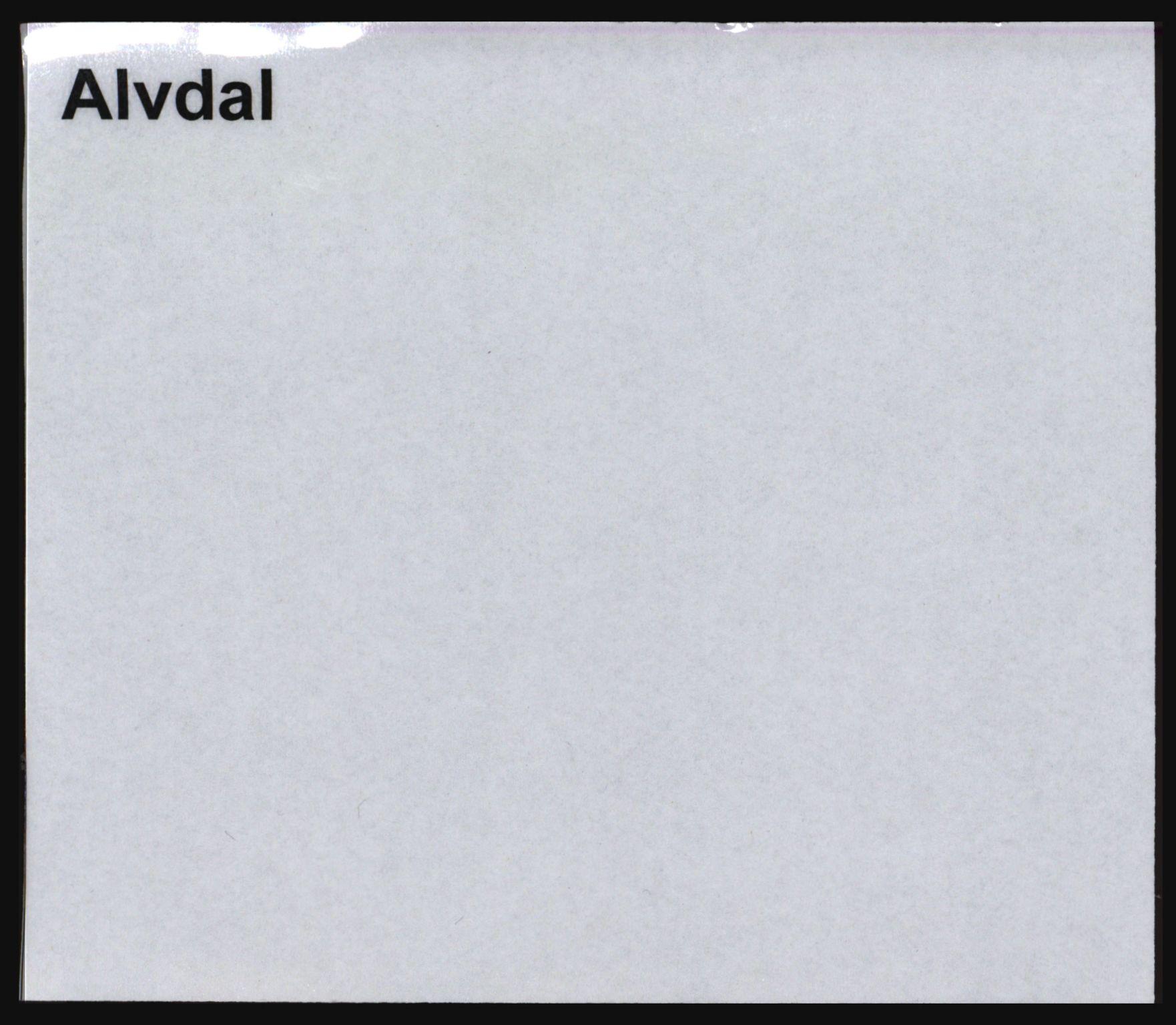 SAH, Norges Brannkasse, Alvdal og Folldal, s. 1