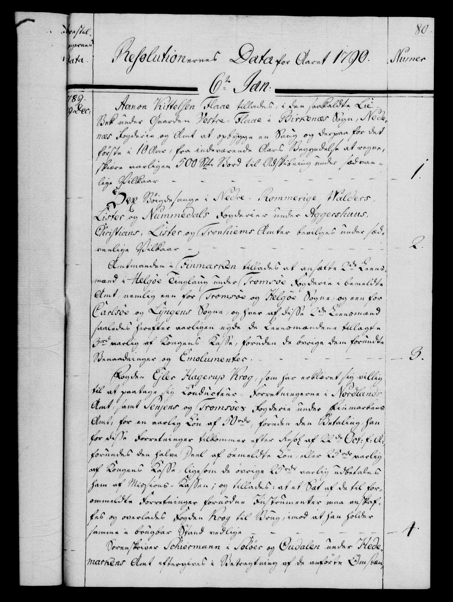 RA, Rentekammeret, Kammerkanselliet, G/Gf/Gfb/L0013: Register til norske relasjons- og resolusjonsprotokoller (merket RK 52.108), 1786-1793, s. 1080a