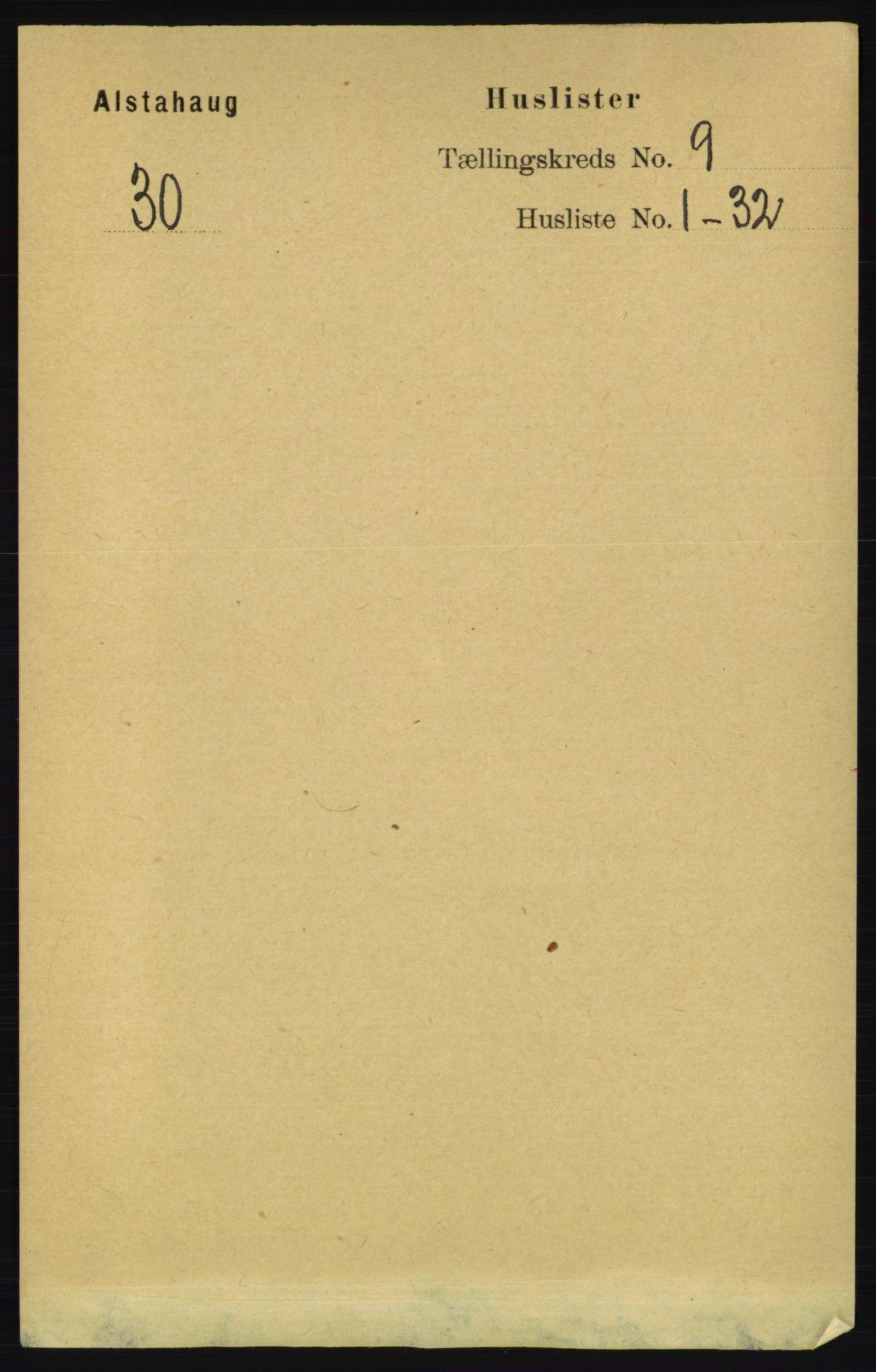 RA, Folketelling 1891 for 1820 Alstahaug herred, 1891, s. 3204