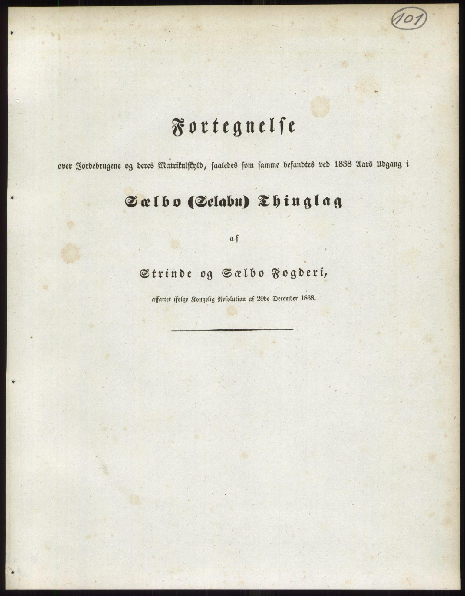 PUBL, Andre publikasjoner, -/Bind 15: Søndre Trondhjems amt, 1838, s. 161