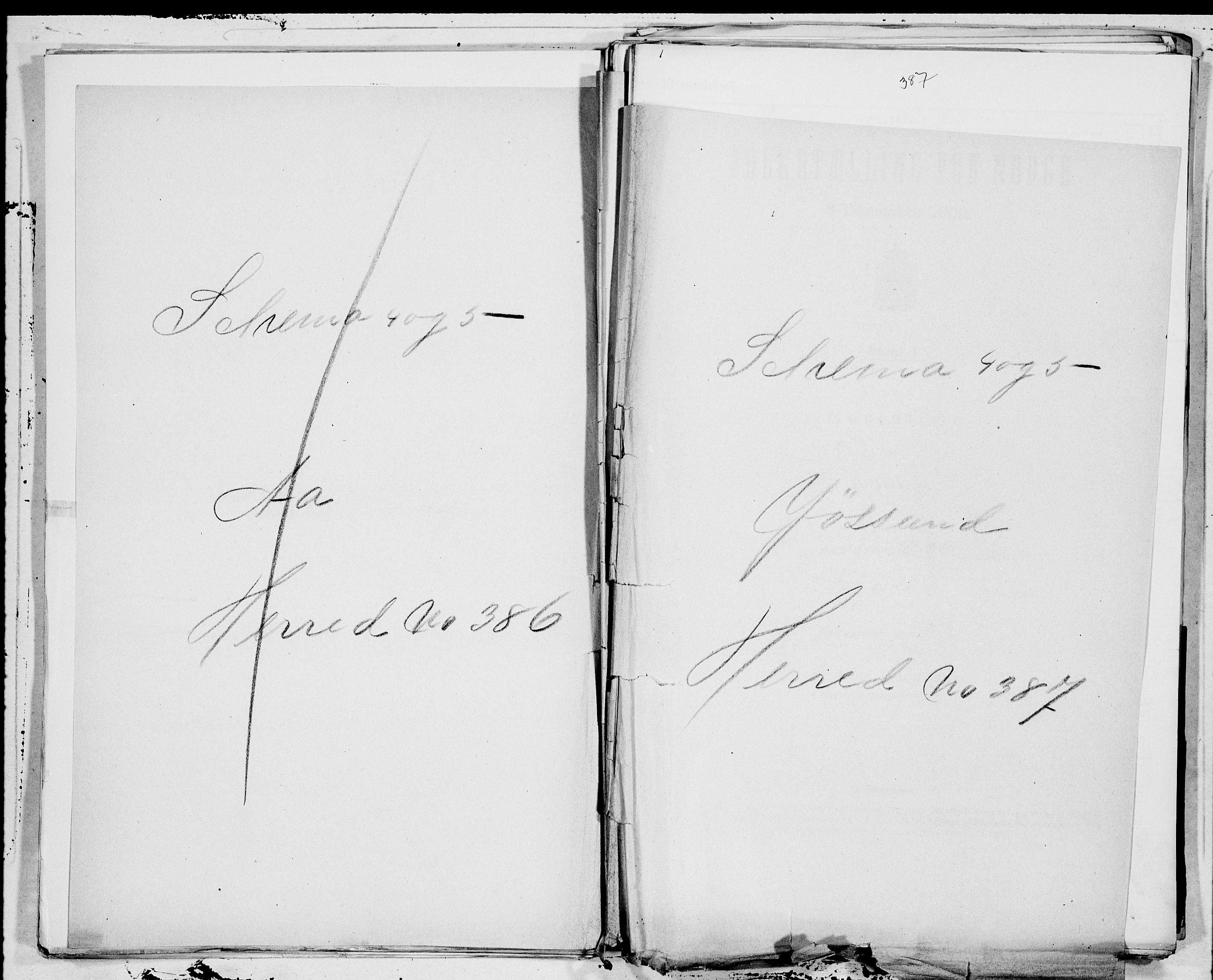 SAT, Folketelling 1900 for 1629 Jøssund herred, 1900, s. 1
