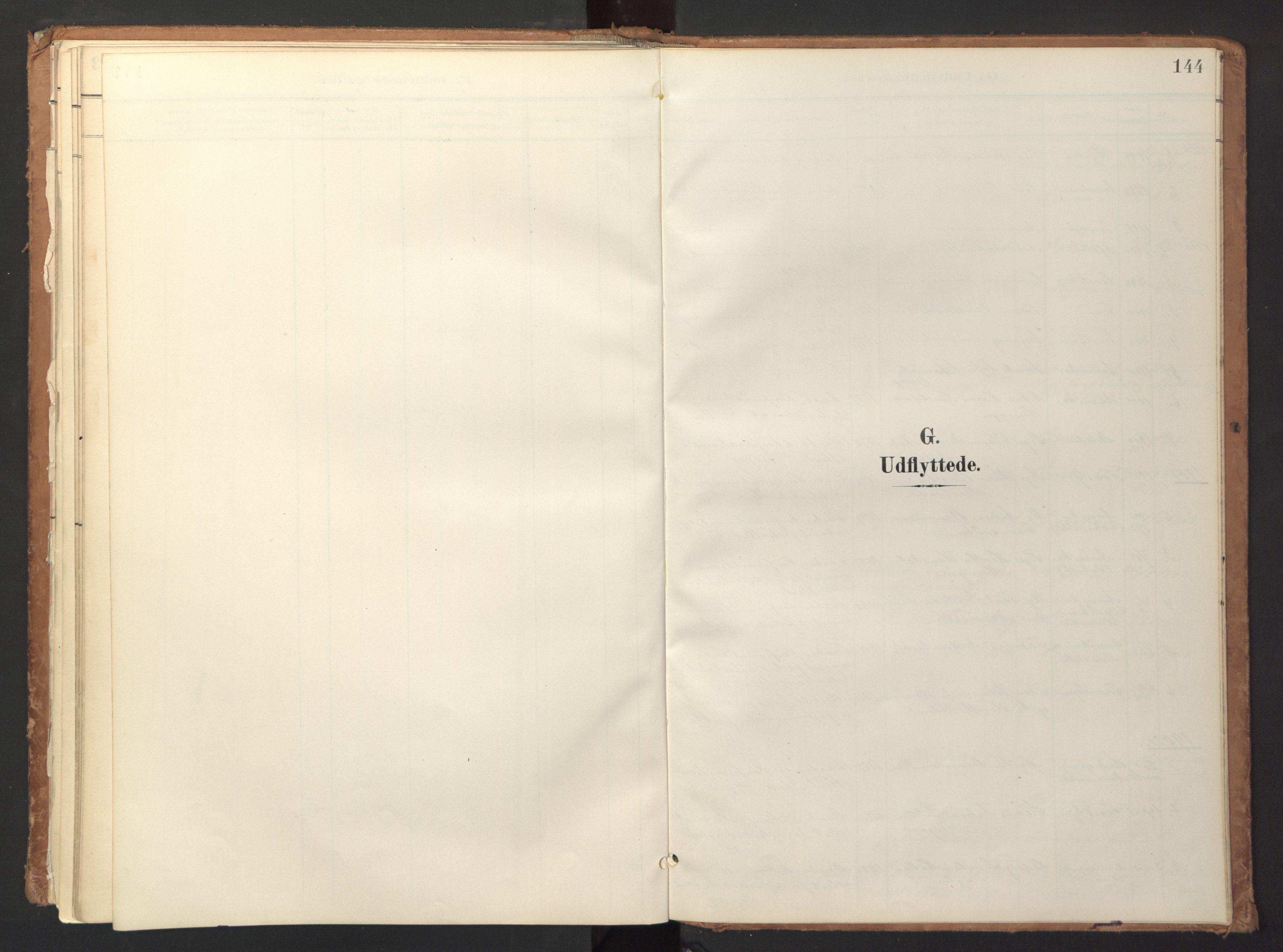 SAT, Ministerialprotokoller, klokkerbøker og fødselsregistre - Sør-Trøndelag, 618/L0448: Ministerialbok nr. 618A11, 1898-1916, s. 144