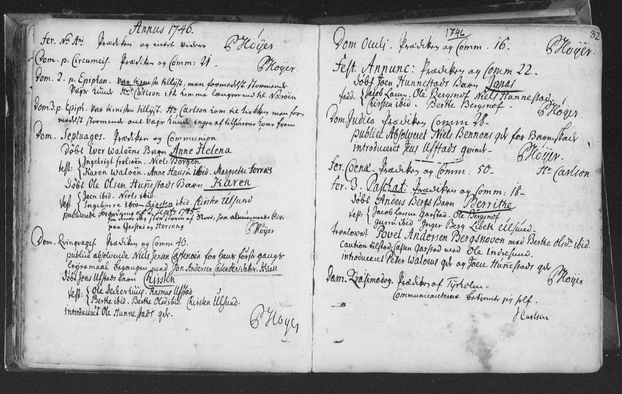 SAT, Ministerialprotokoller, klokkerbøker og fødselsregistre - Nord-Trøndelag, 786/L0685: Ministerialbok nr. 786A01, 1710-1798, s. 82