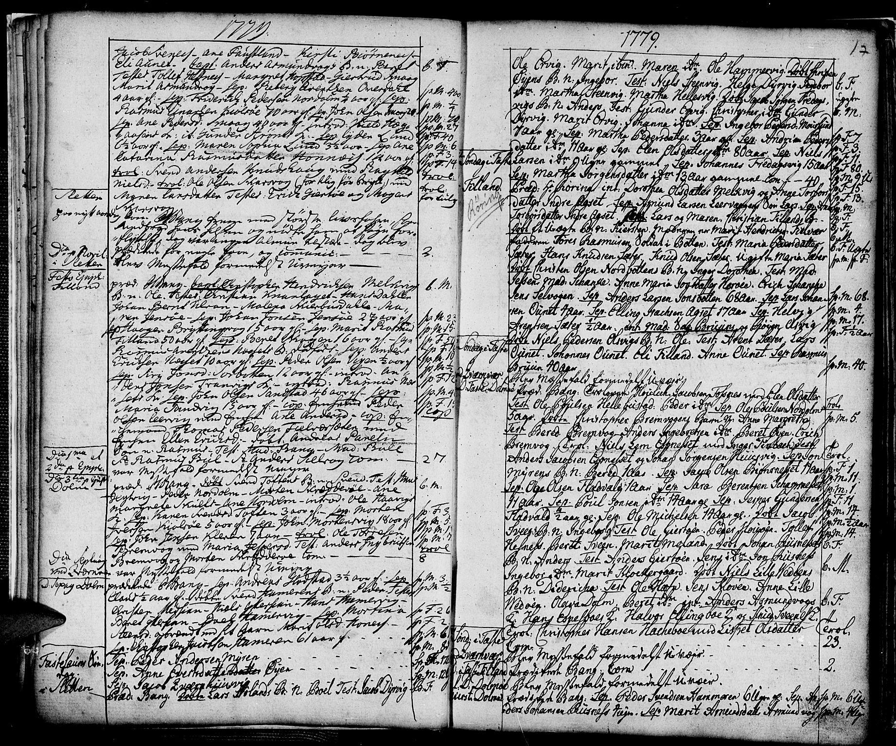 SAT, Ministerialprotokoller, klokkerbøker og fødselsregistre - Sør-Trøndelag, 634/L0526: Ministerialbok nr. 634A02, 1775-1818, s. 17