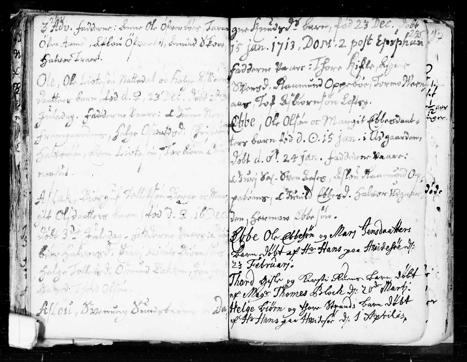 SAKO, Seljord kirkebøker, F/Fa/L0002: Ministerialbok nr. I 2, 1689-1713, s. 234-235