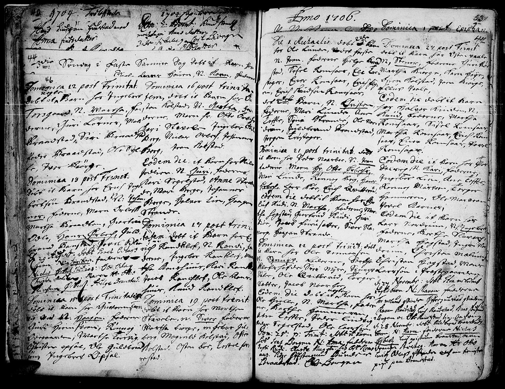 SAH, Ringebu prestekontor, Ministerialbok nr. 1, 1696-1733, s. 46-47