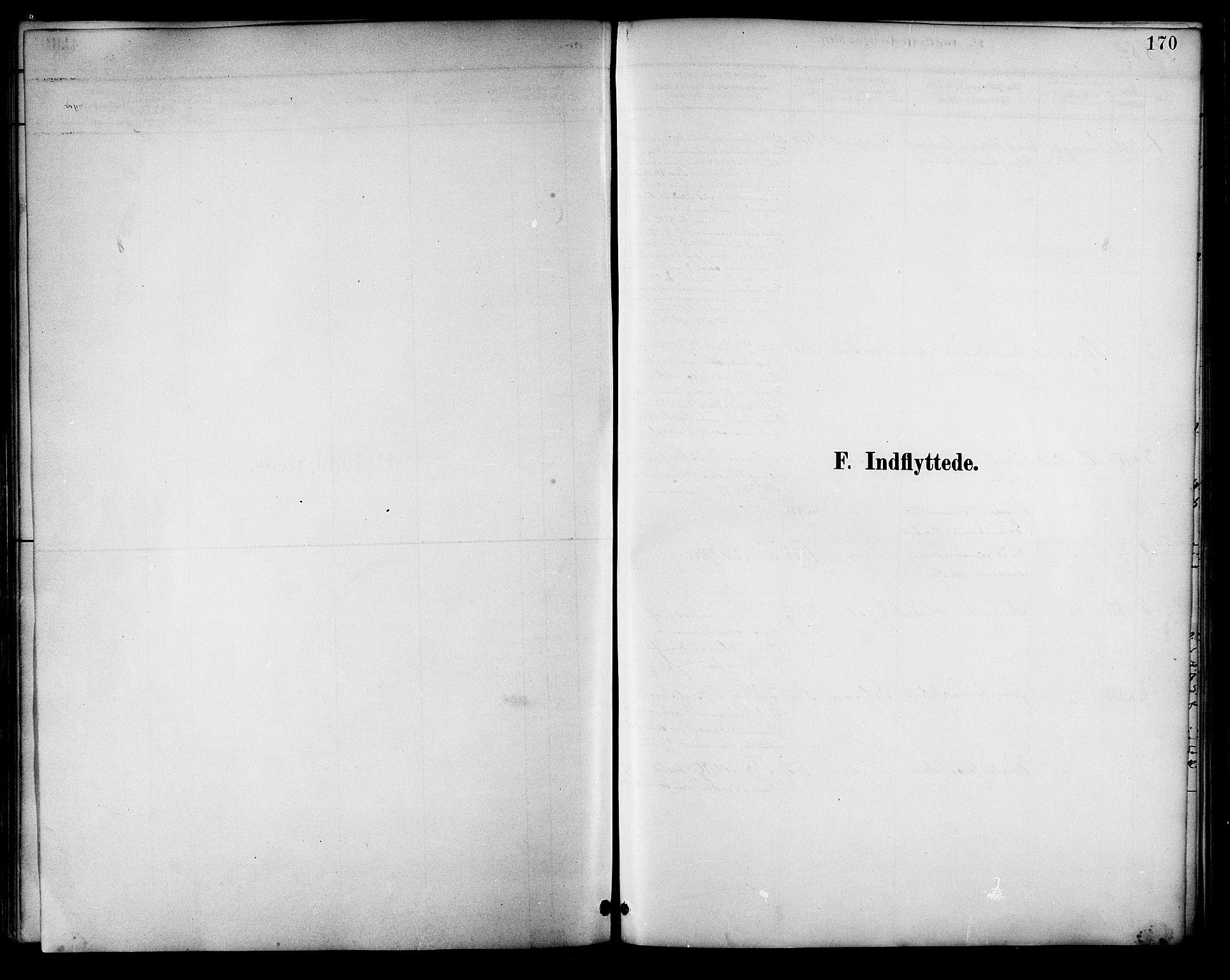 SAT, Ministerialprotokoller, klokkerbøker og fødselsregistre - Nordland, 854/L0777: Ministerialbok nr. 854A01 /1, 1883-1891, s. 170