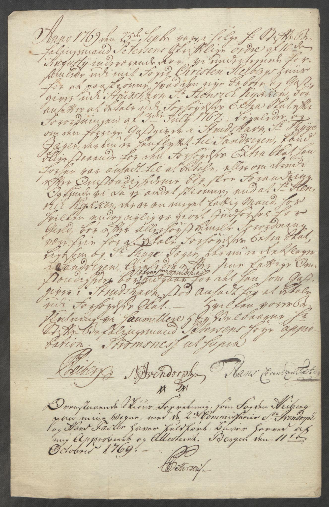 RA, Rentekammeret inntil 1814, Reviderte regnskaper, Fogderegnskap, R51/L3303: Ekstraskatten Nordhordland og Voss, 1762-1772, s. 366