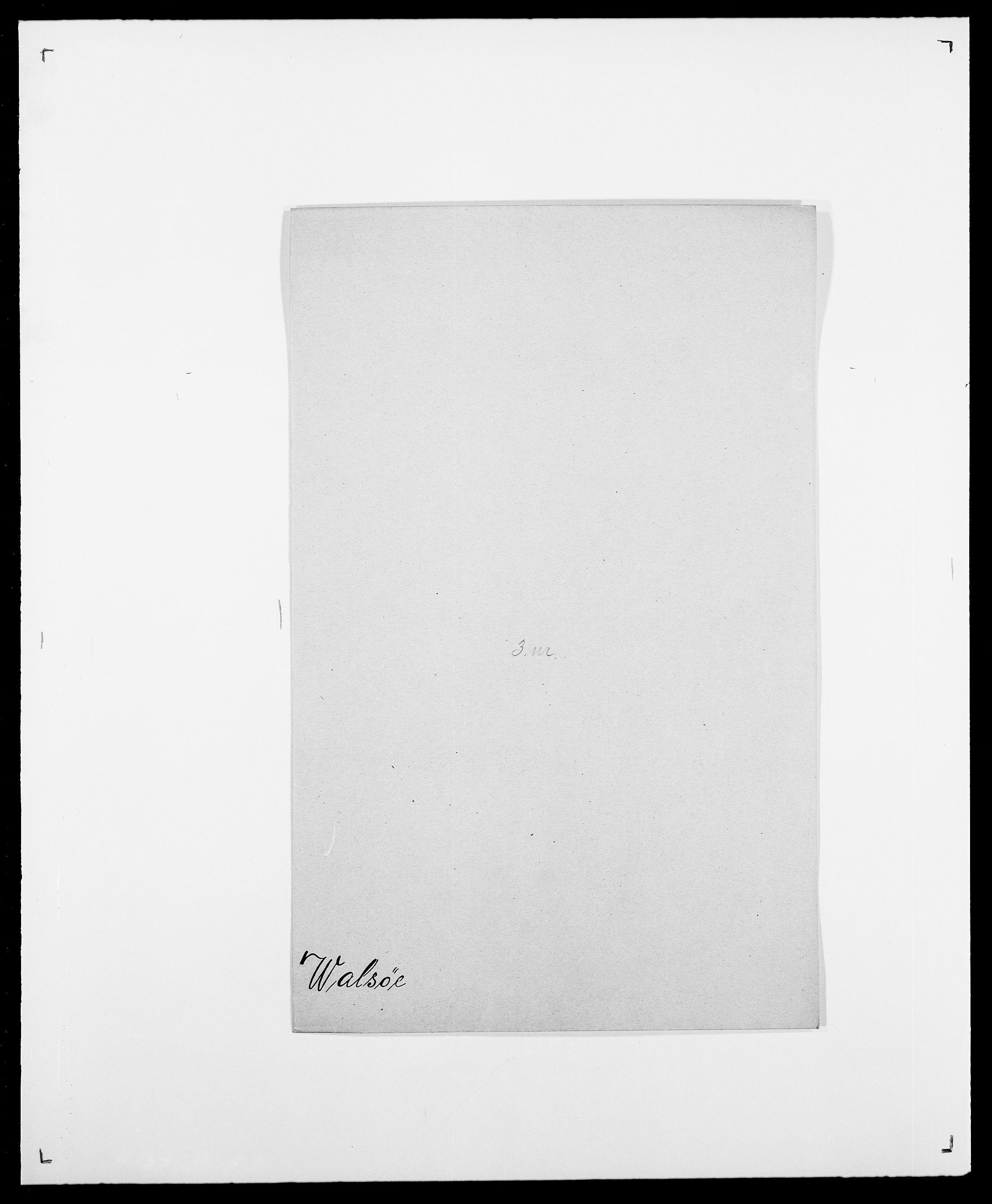 SAO, Delgobe, Charles Antoine - samling, D/Da/L0040: Usgaard - Velund, s. 225
