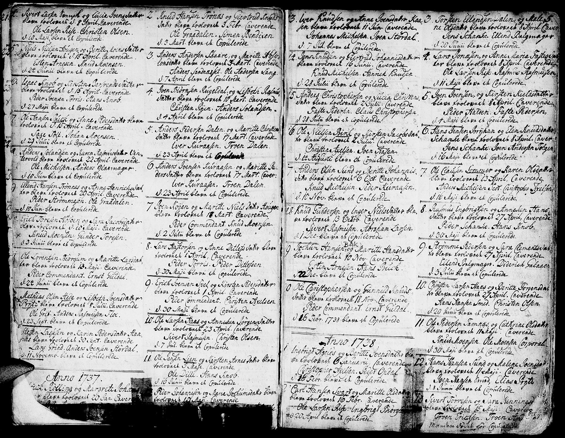 SAT, Ministerialprotokoller, klokkerbøker og fødselsregistre - Sør-Trøndelag, 681/L0925: Ministerialbok nr. 681A03, 1727-1766, s. 5