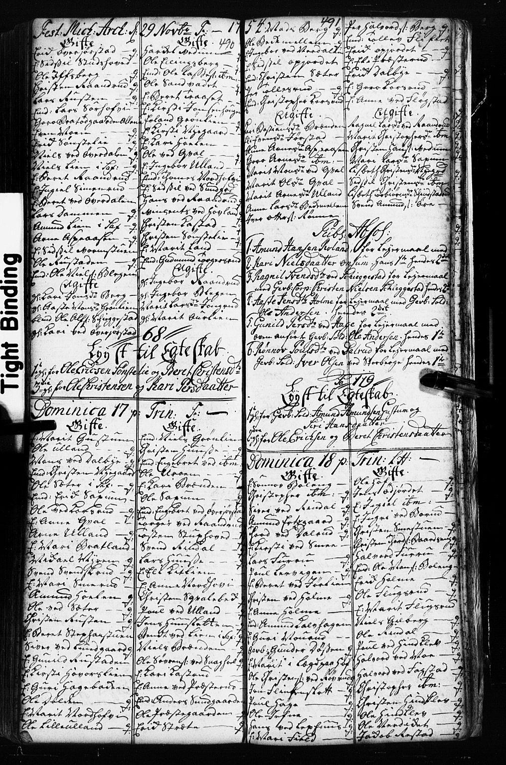 SAH, Fåberg prestekontor, Klokkerbok nr. 2, 1741-1756, s. 490-491