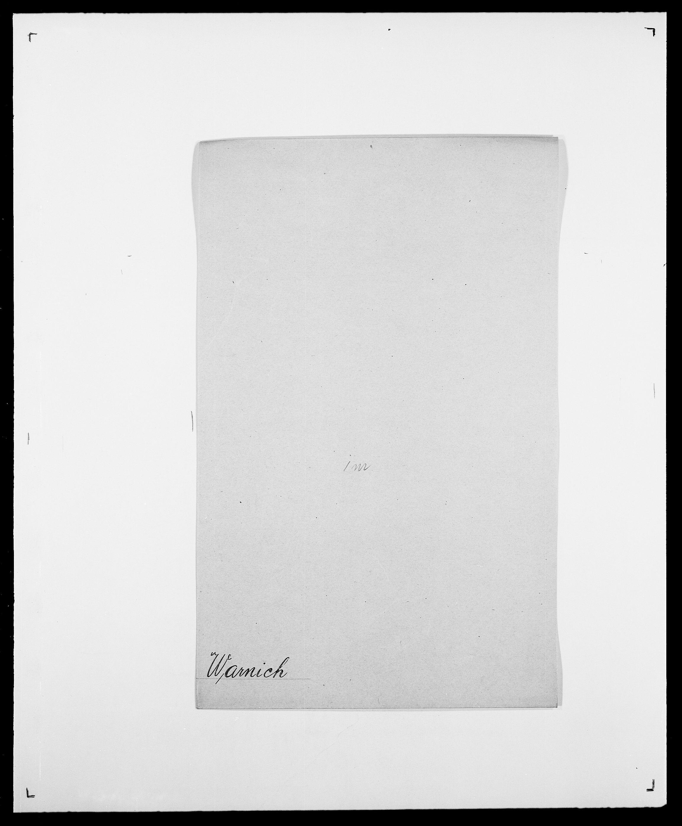SAO, Delgobe, Charles Antoine - samling, D/Da/L0040: Usgaard - Velund, s. 335