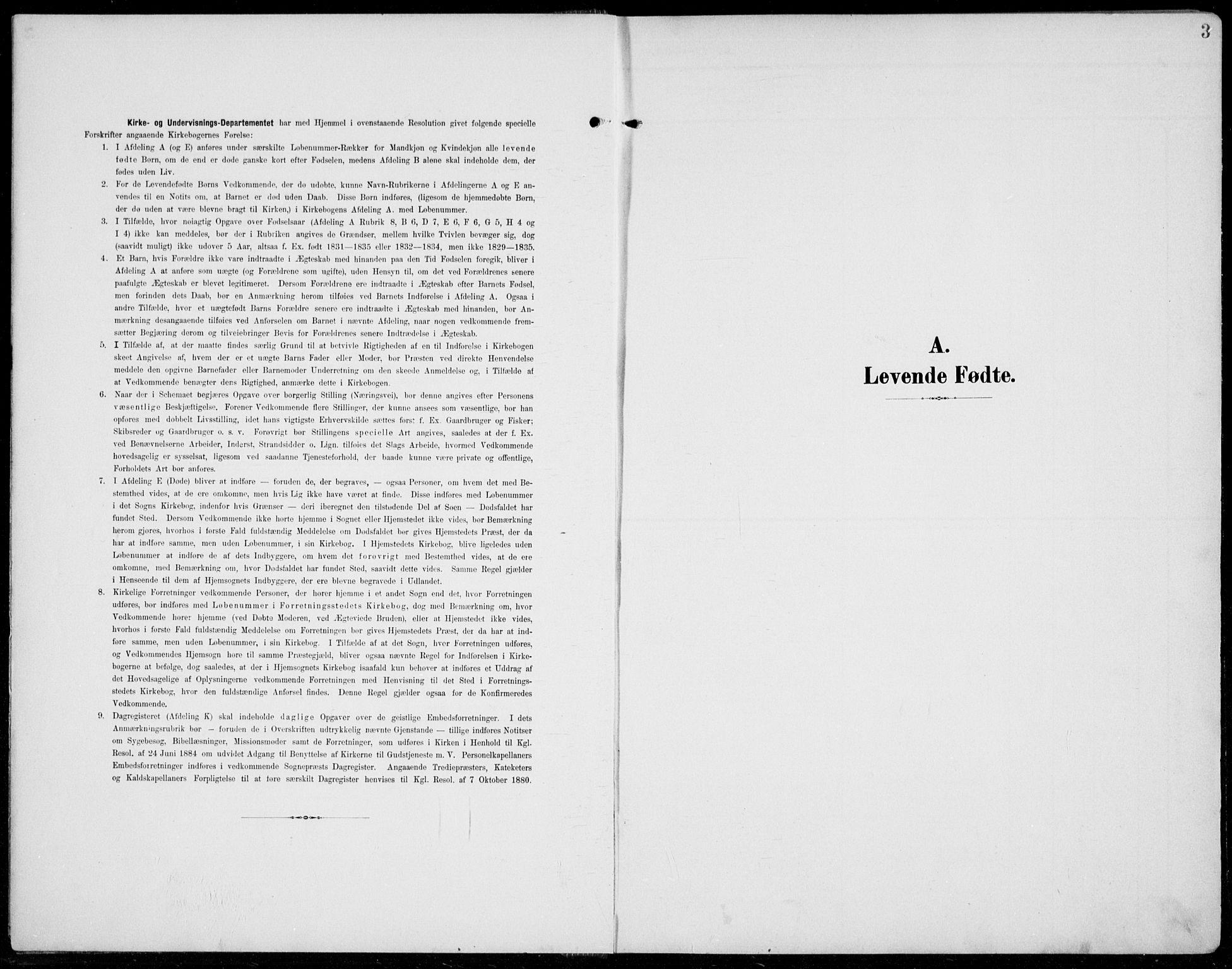 SAH, Jevnaker prestekontor, Ministerialbok nr. 11, 1902-1913, s. 3