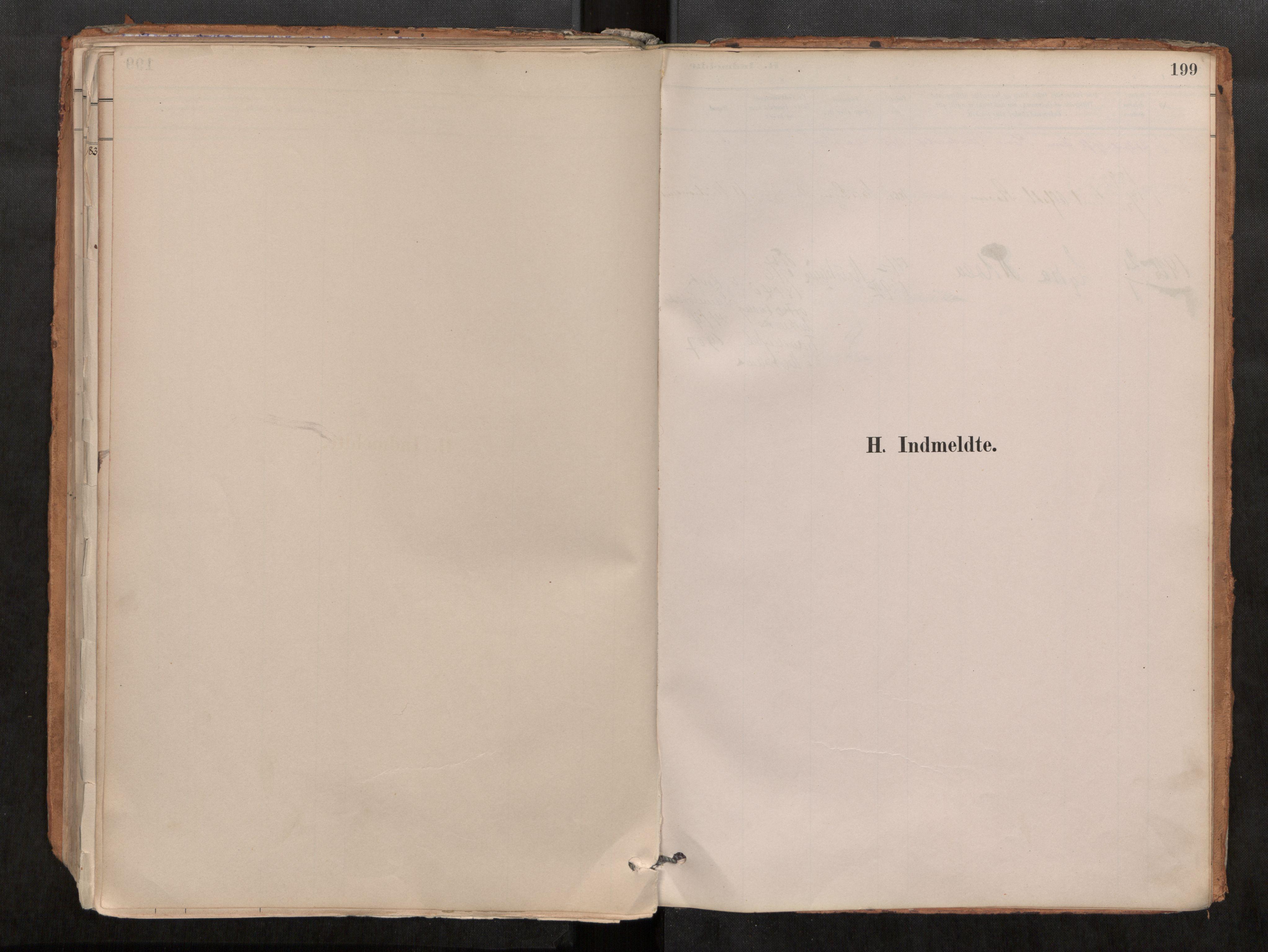 SAT, Grytten sokneprestkontor, Ministerialbok nr. 546A03, 1882-1920, s. 199