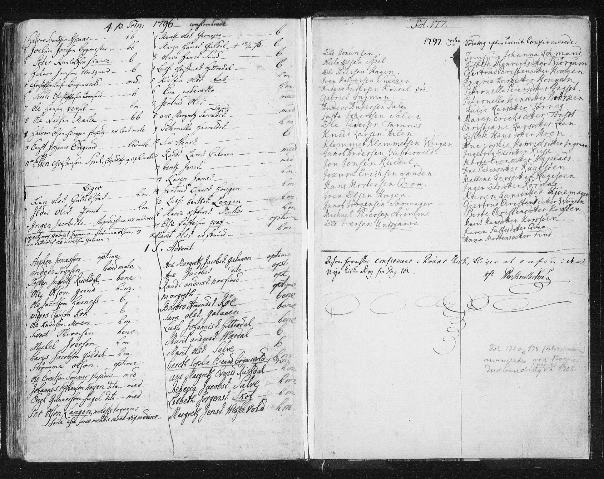 SAT, Ministerialprotokoller, klokkerbøker og fødselsregistre - Sør-Trøndelag, 681/L0926: Ministerialbok nr. 681A04, 1767-1797, s. 177
