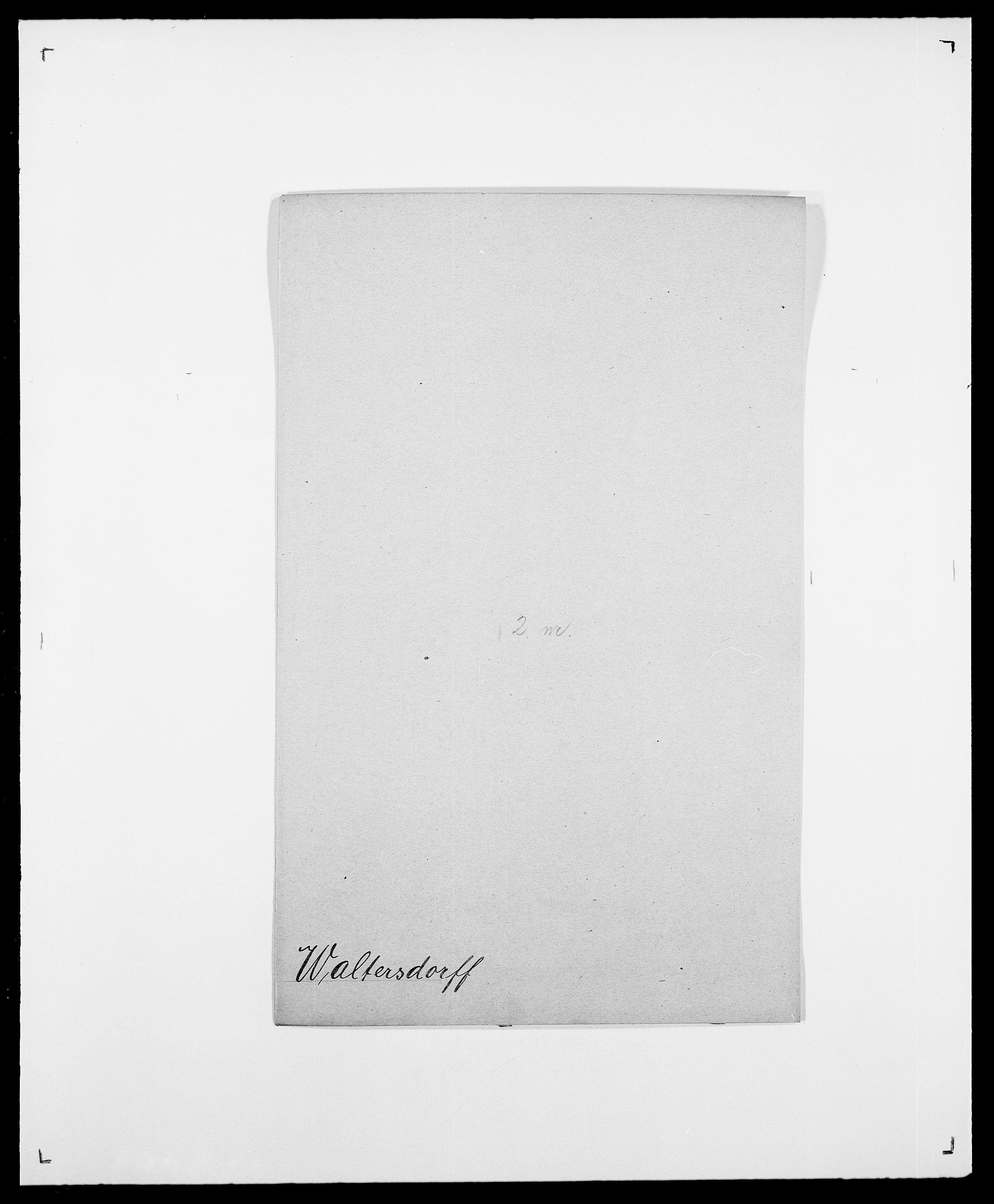 SAO, Delgobe, Charles Antoine - samling, D/Da/L0040: Usgaard - Velund, s. 257