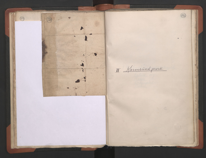 RA, Sogneprestenes manntall 1664-1666, nr. 18: Stavanger prosti og Karmsund prosti, 1664-1666, s. 124-125