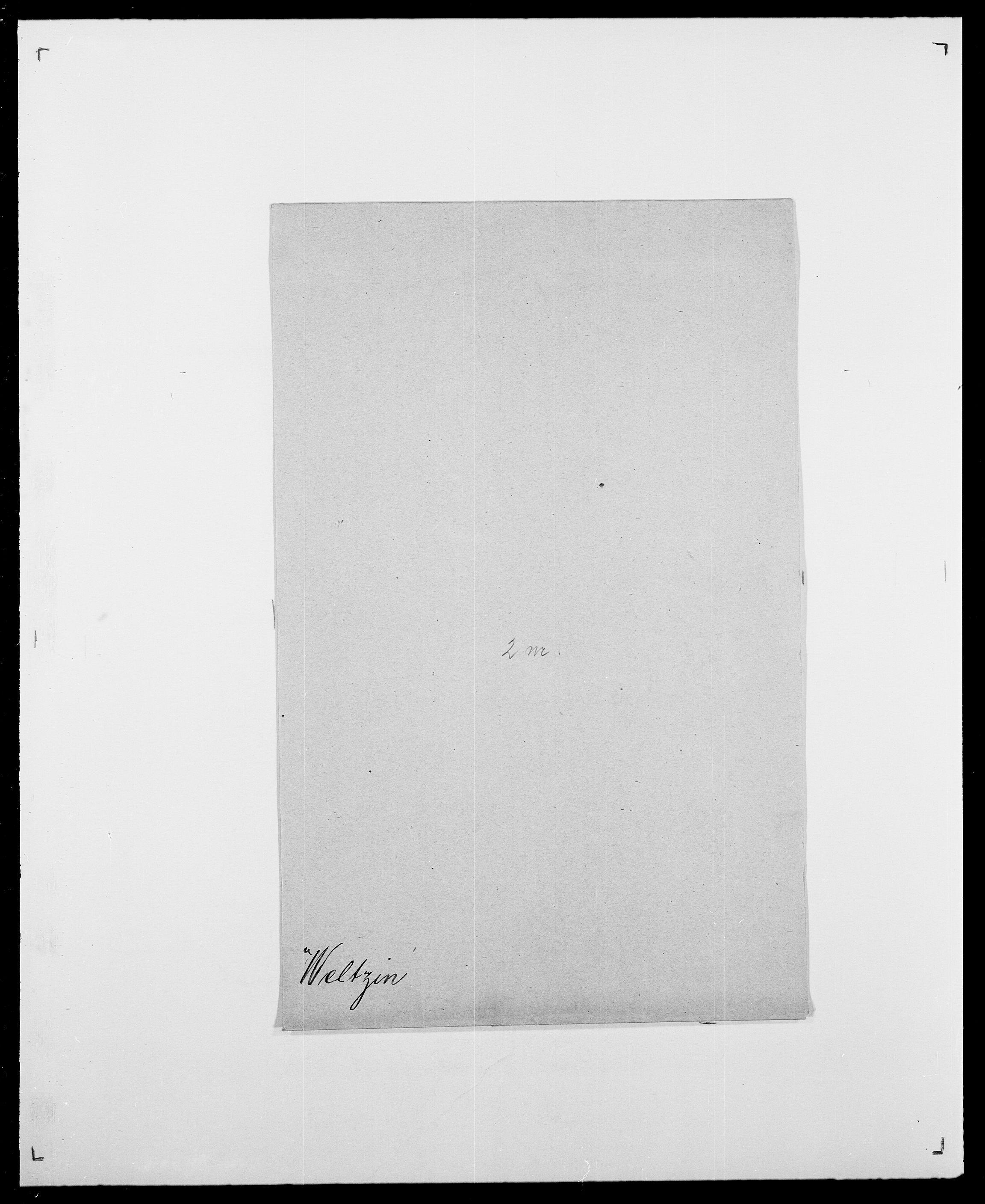 SAO, Delgobe, Charles Antoine - samling, D/Da/L0040: Usgaard - Velund, s. 761