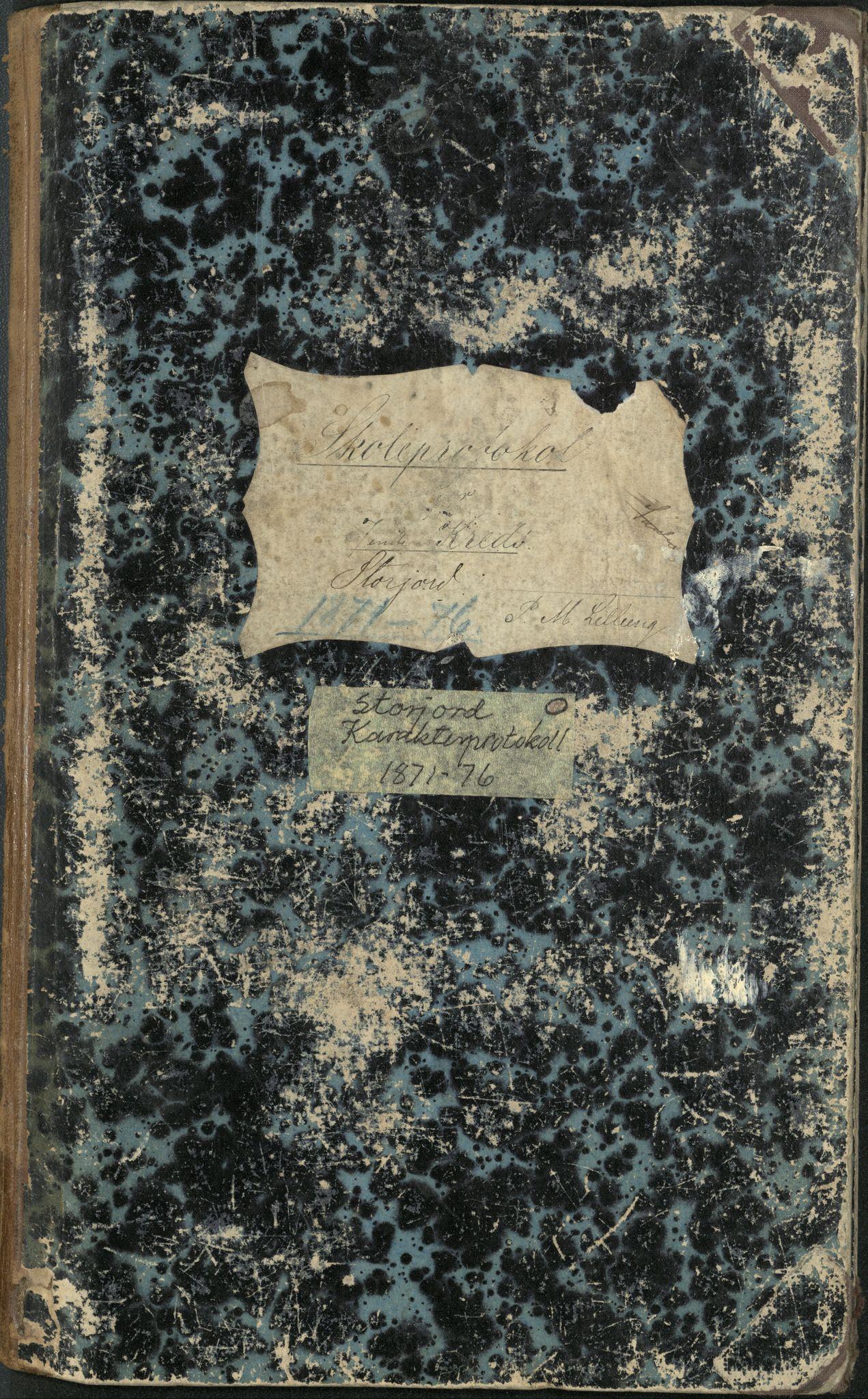 AT, Målselv kommune, -: Skoleprotokoll for Storjord, 7. krets - skole for gårdene Seljehaug, Skavaas, Nedremo, Mellemmo, Øvremo, Storjord og Skardal, 1871-1876