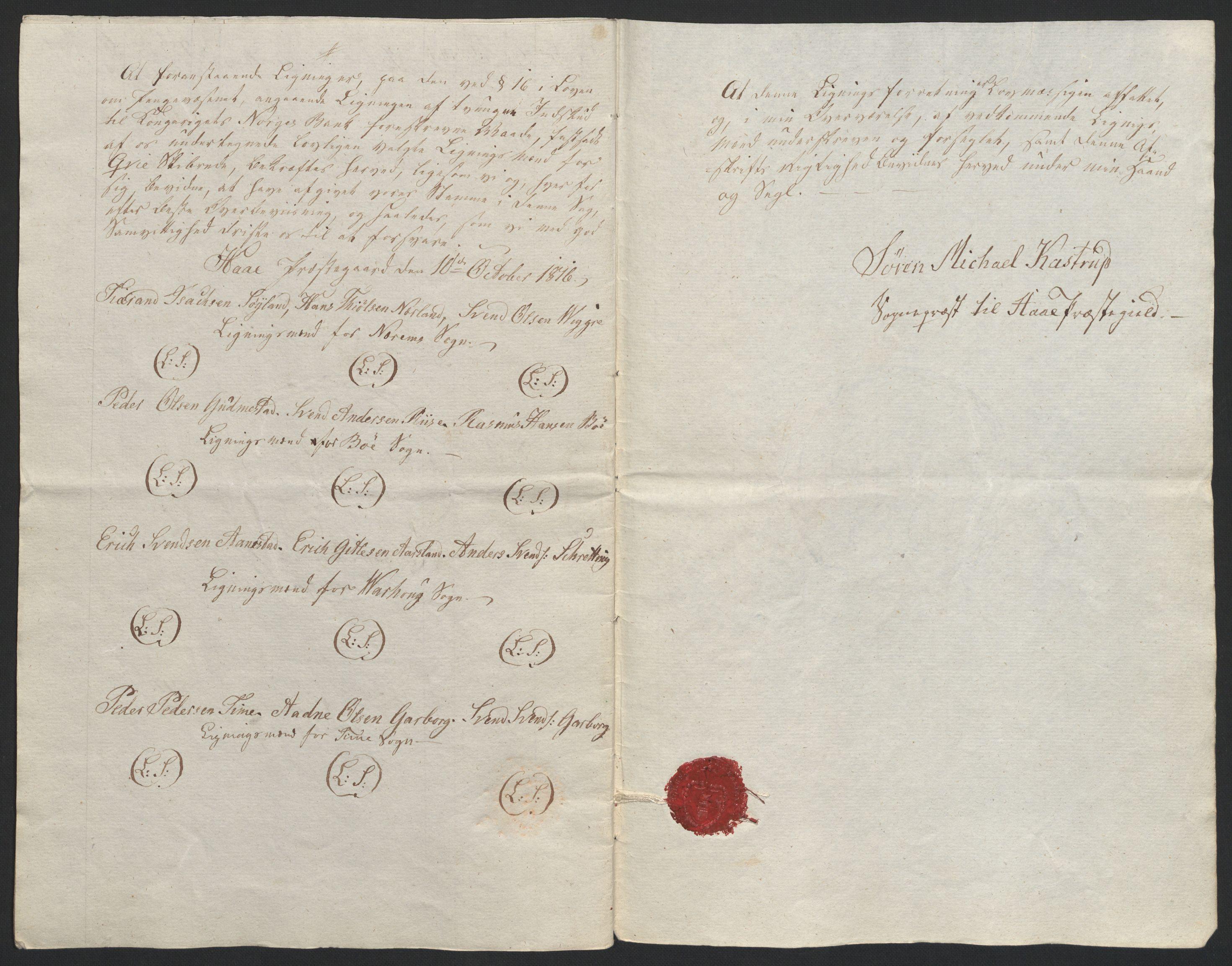 NOBA, Norges Bank/Sølvskatten 1816*, 1816-1825, s. 77