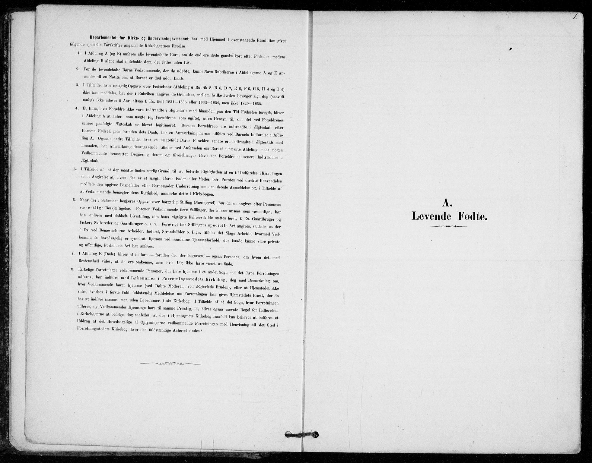 SAO, Vestby prestekontor Kirkebøker, F/Fe/L0001: Ministerialbok nr. V 1, 1878-1931, s. 1