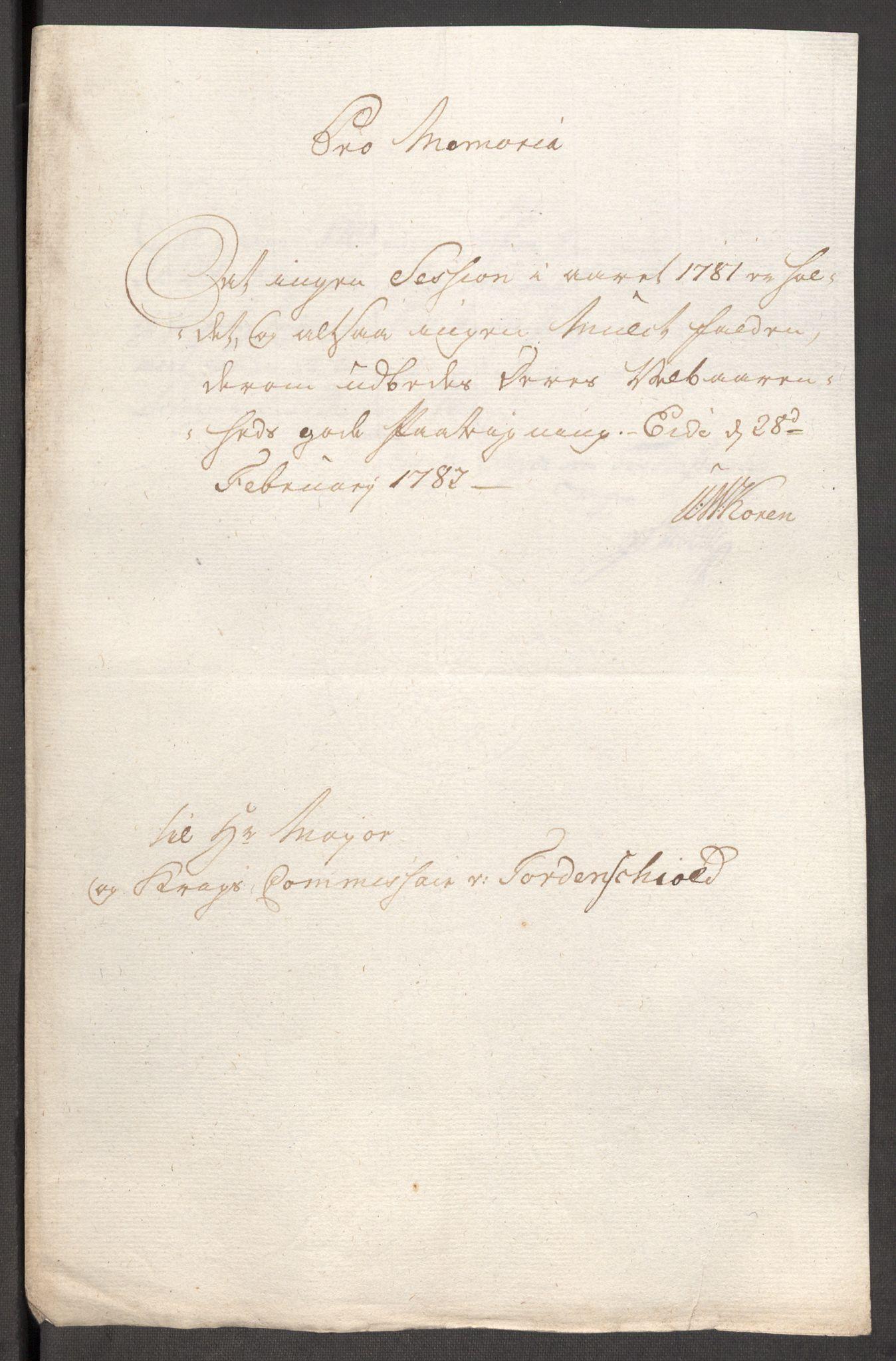 RA, Rentekammeret inntil 1814, Reviderte regnskaper, Fogderegnskap, R48/L3097: Fogderegnskap Sunnhordland og Hardanger, 1781, s. 102