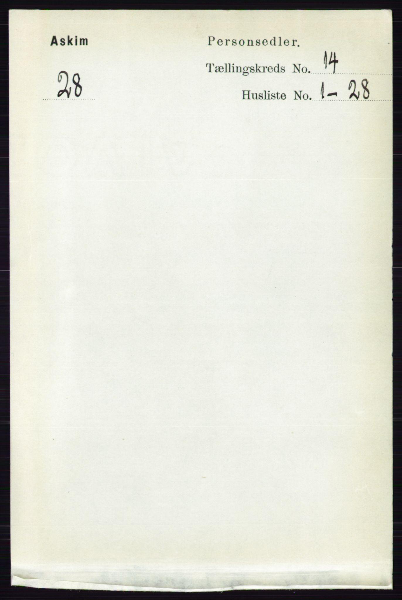 RA, Folketelling 1891 for 0124 Askim herred, 1891, s. 2245