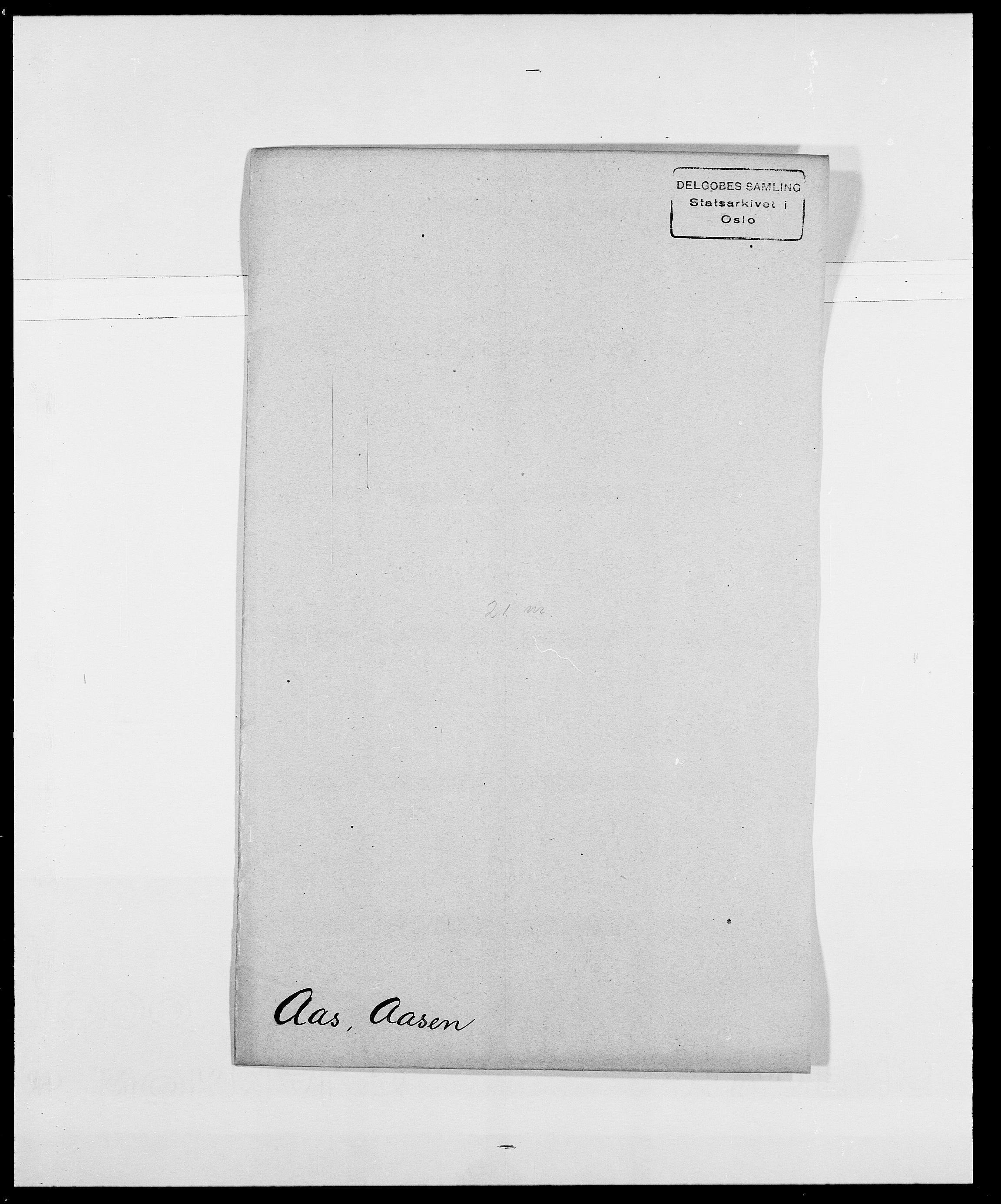 SAO, Delgobe, Charles Antoine - samling, D/Da/L0001: Aabye - Angerman, s. 125