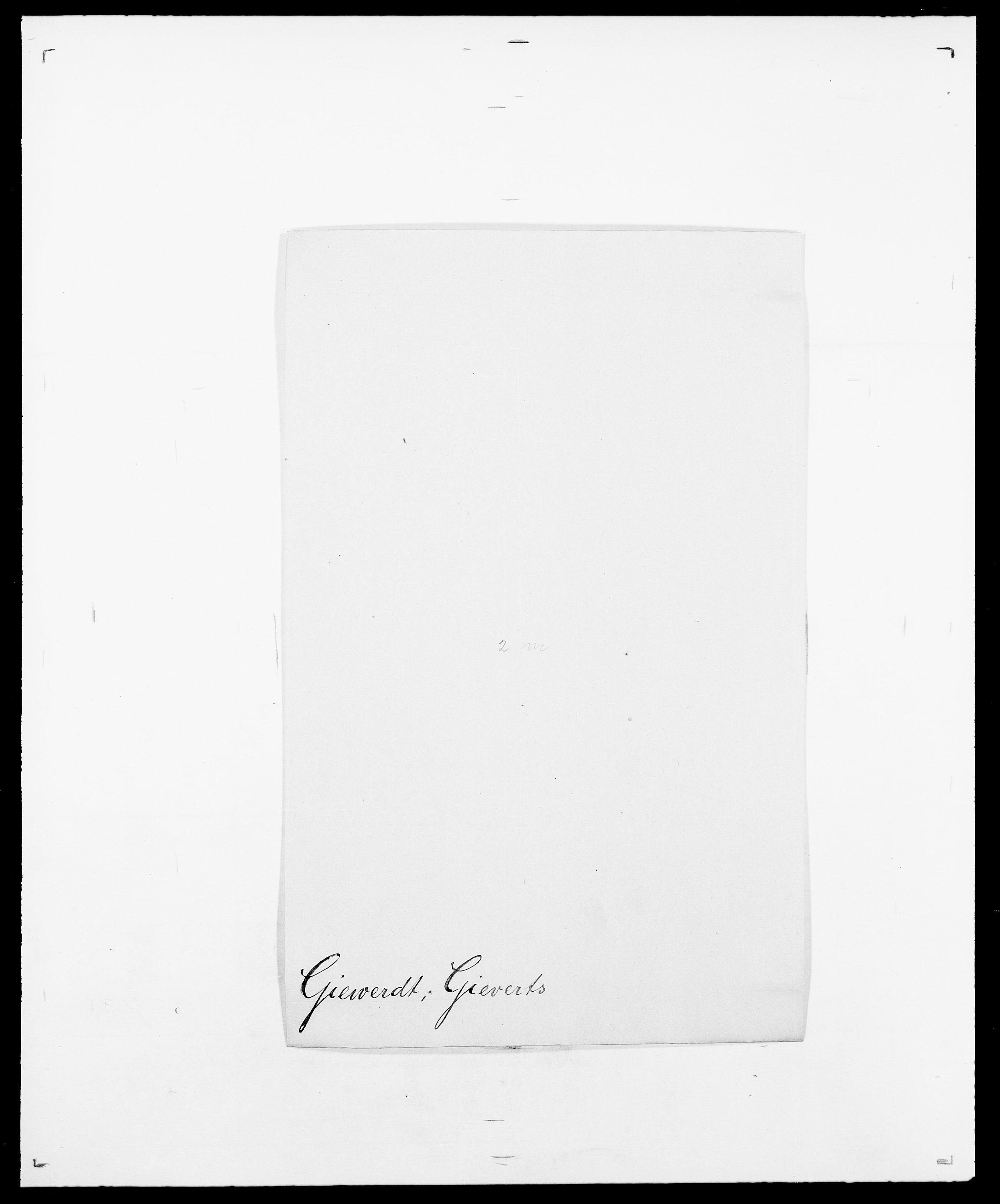 SAO, Delgobe, Charles Antoine - samling, D/Da/L0014: Giebdhausen - Grip, s. 21
