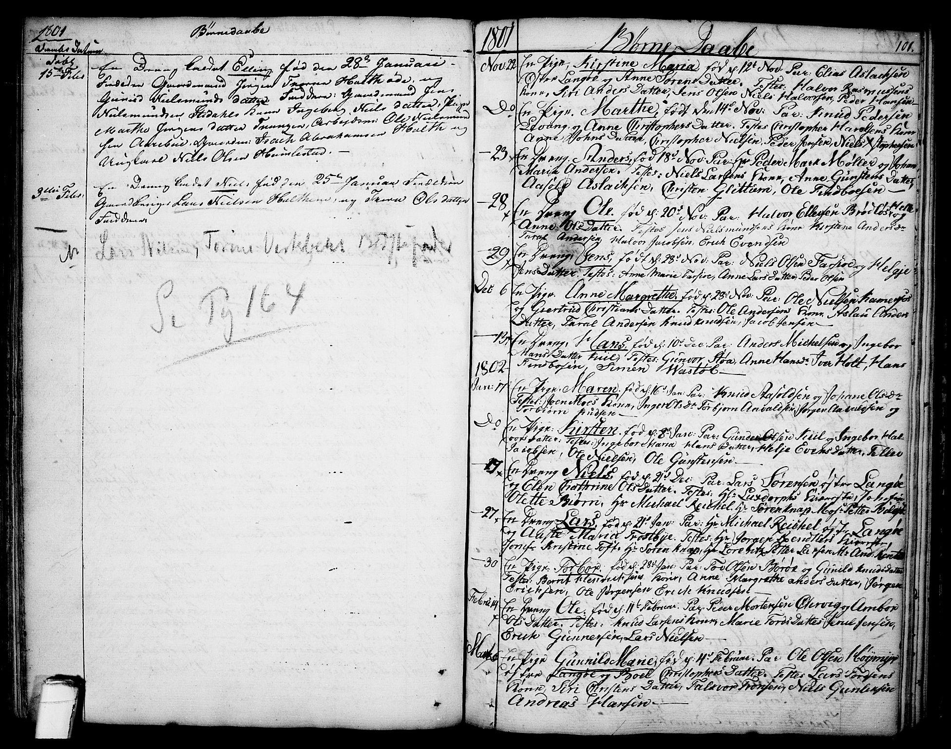 SAKO, Sannidal kirkebøker, F/Fa/L0002: Ministerialbok nr. 2, 1767-1802, s. 101
