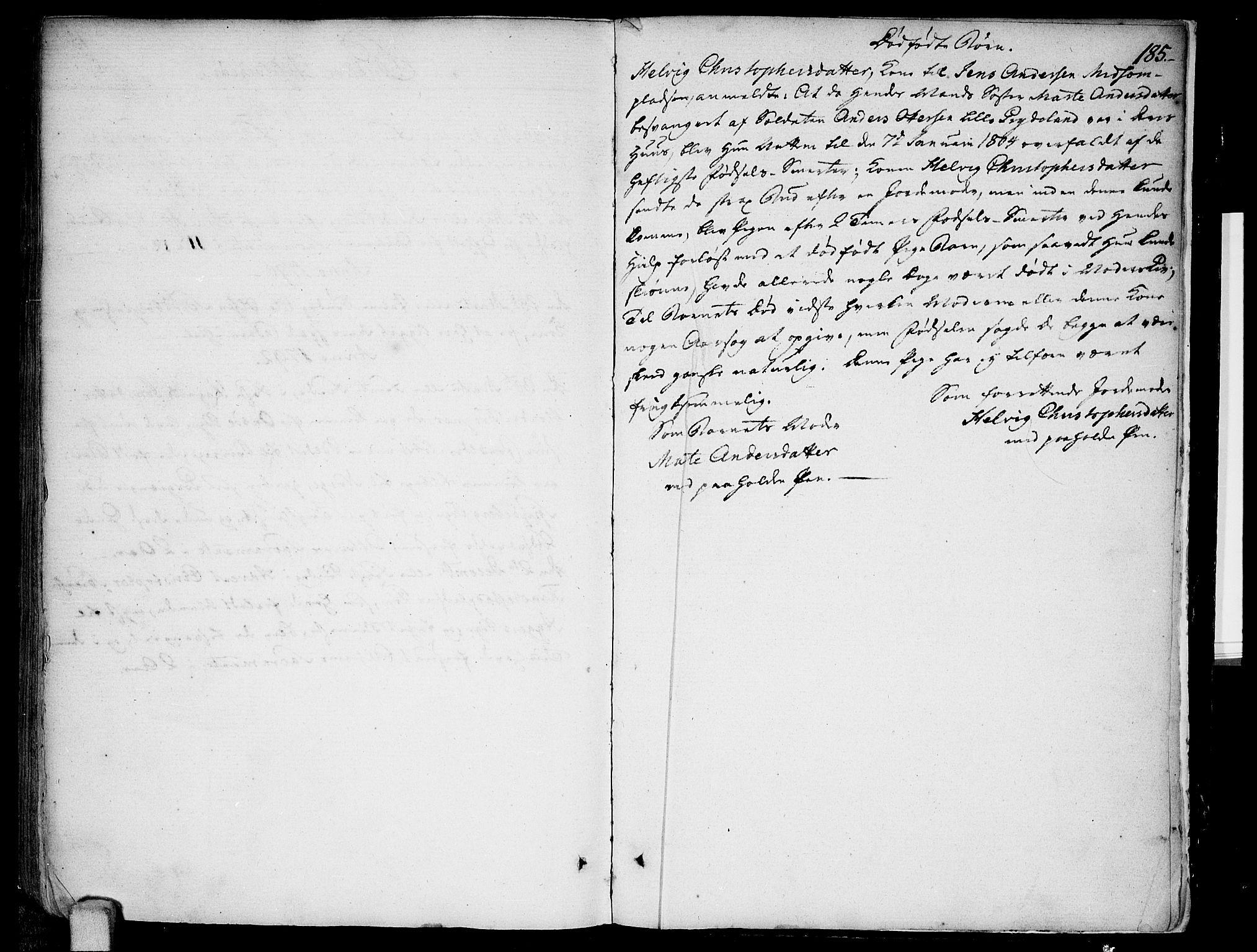 SAO, Kråkstad prestekontor Kirkebøker, F/Fa/L0002: Ministerialbok nr. I 2, 1786-1814, s. 185