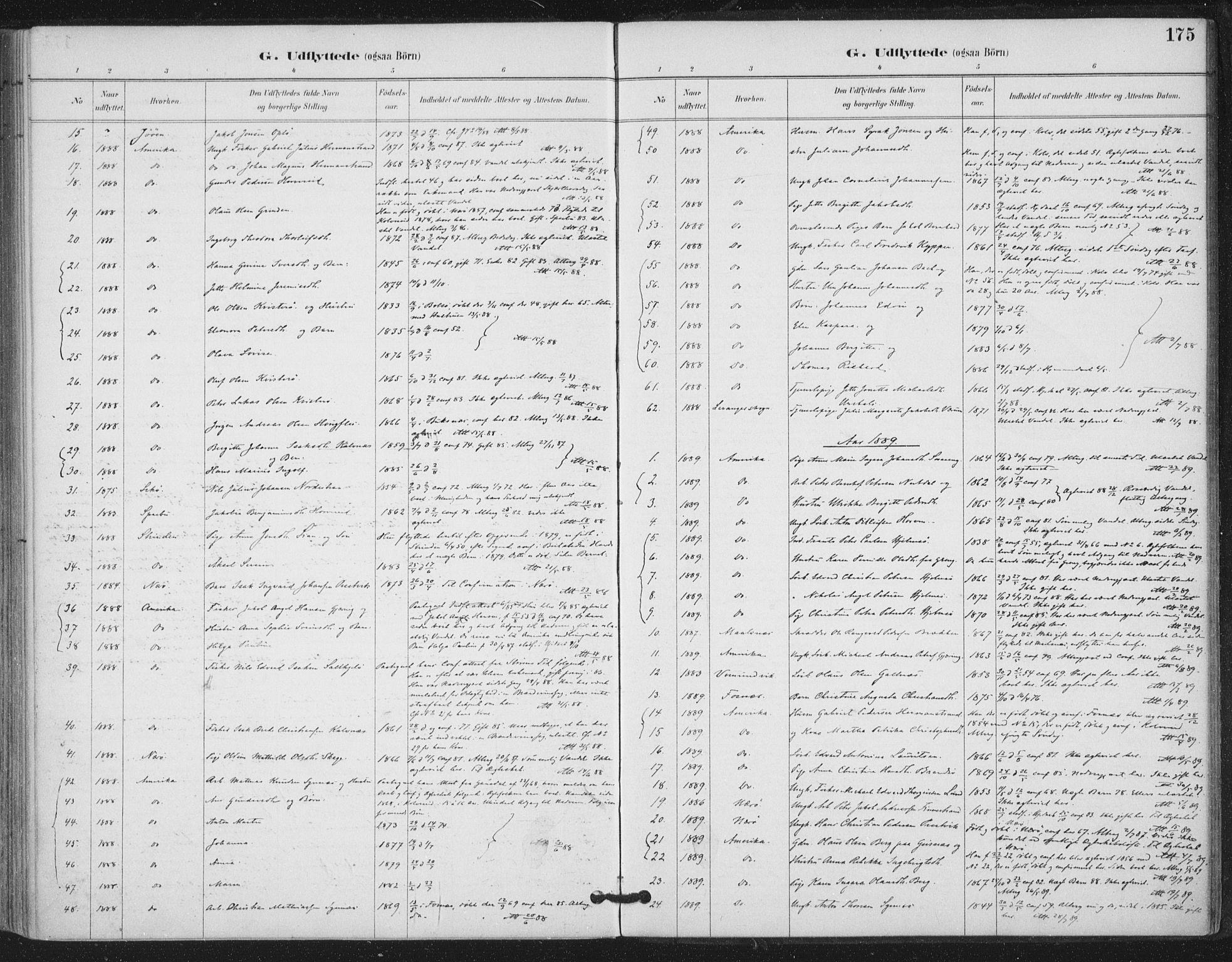 SAT, Ministerialprotokoller, klokkerbøker og fødselsregistre - Nord-Trøndelag, 780/L0644: Ministerialbok nr. 780A08, 1886-1903, s. 175