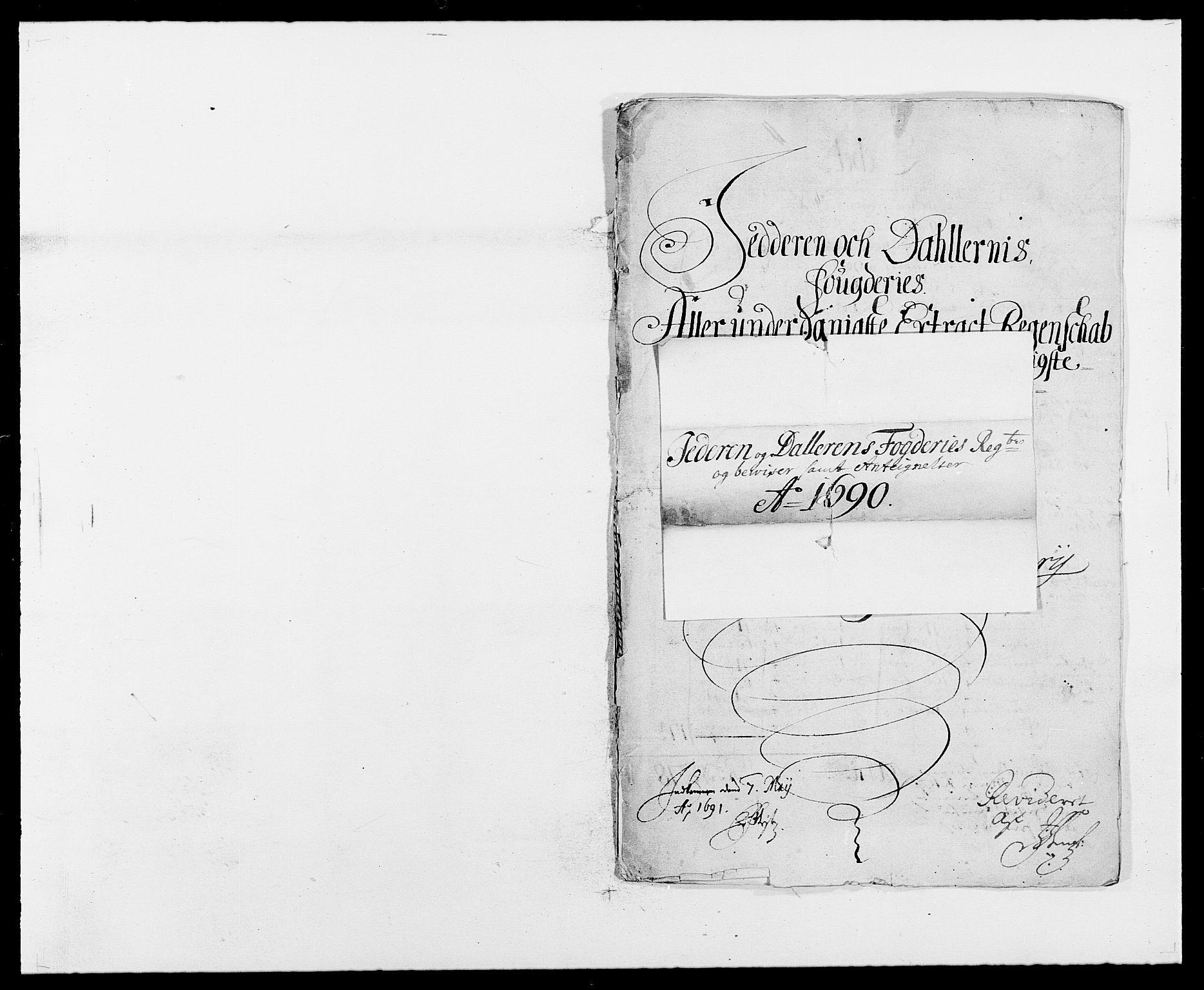 RA, Rentekammeret inntil 1814, Reviderte regnskaper, Fogderegnskap, R46/L2727: Fogderegnskap Jæren og Dalane, 1690-1693, s. 1