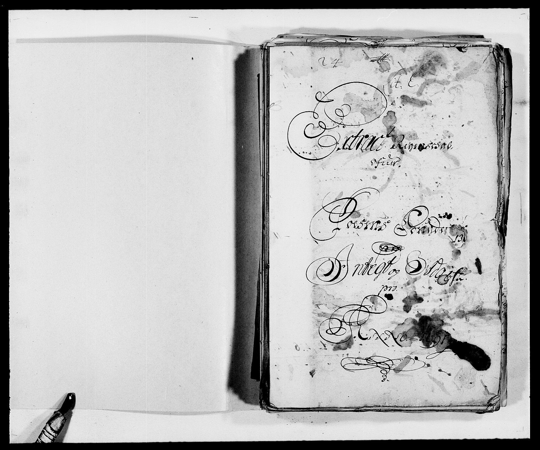 RA, Rentekammeret inntil 1814, Reviderte regnskaper, Fogderegnskap, R57/L3848: Fogderegnskap Fosen, 1690-1691, s. 202