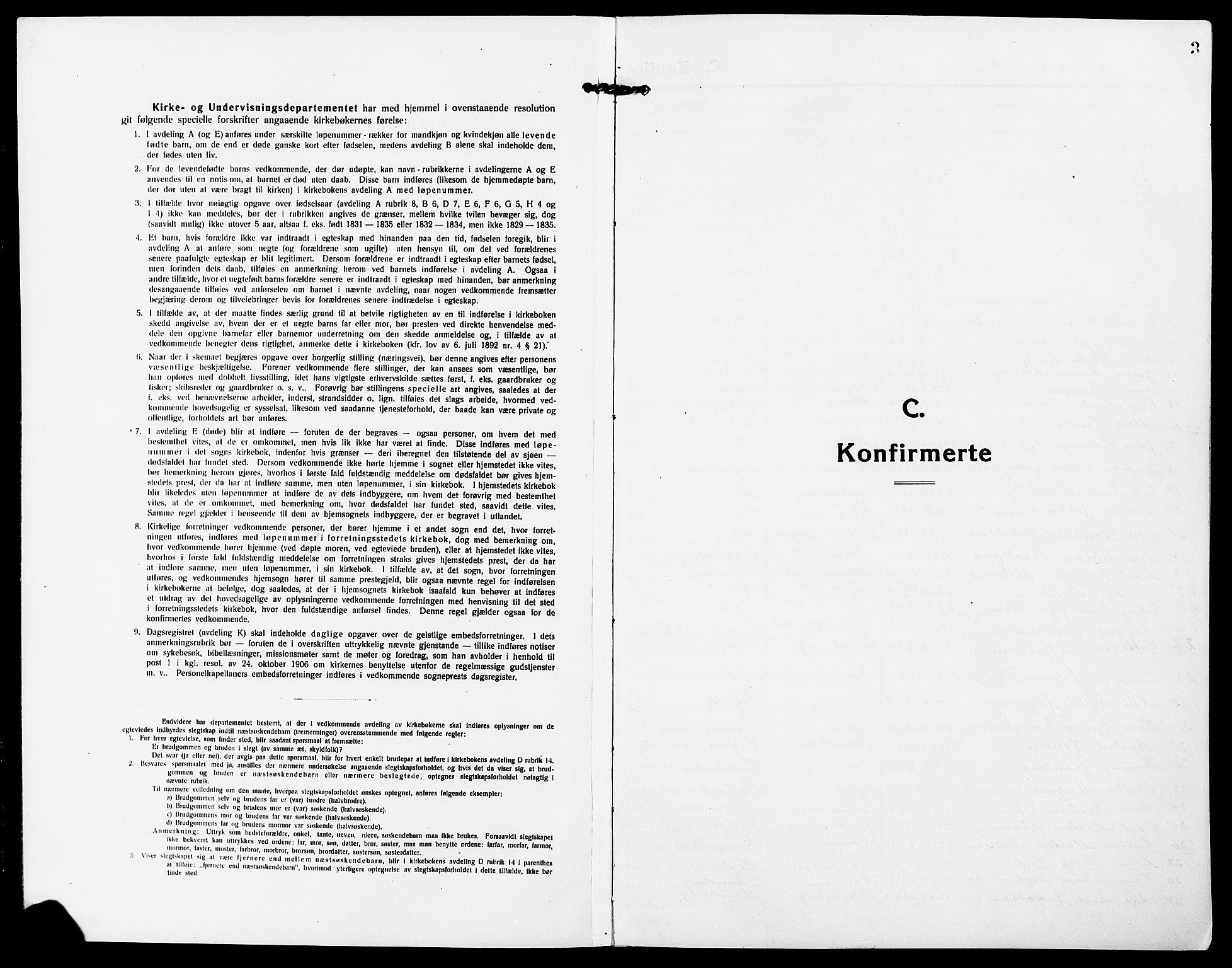 SAT, Ministerialprotokoller, klokkerbøker og fødselsregistre - Nordland, 827/L0424: Klokkerbok nr. 827C13, 1921-1930, s. 3