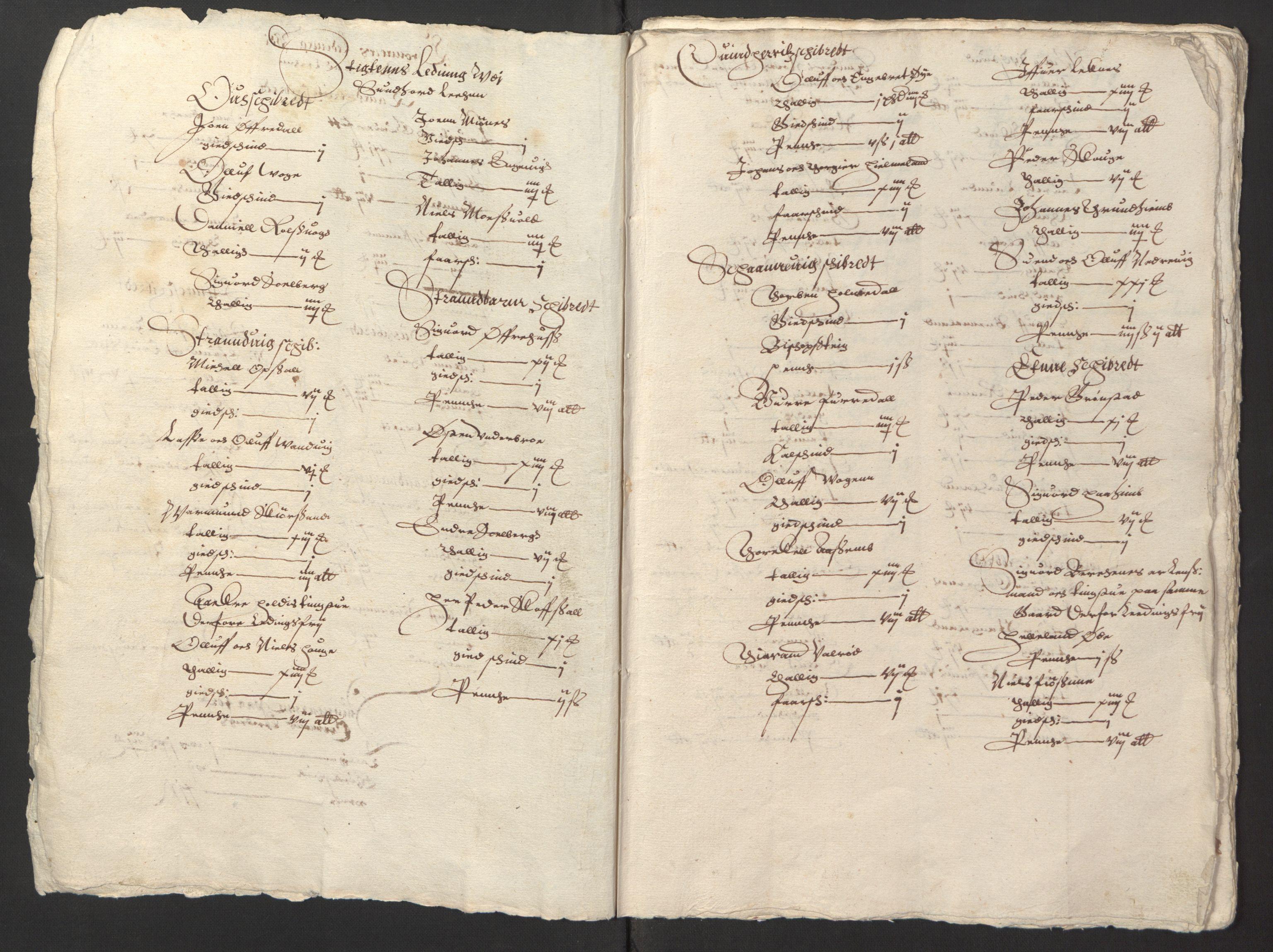 RA, Stattholderembetet 1572-1771, Ek/L0003: Jordebøker til utlikning av garnisonsskatt 1624-1626:, 1624-1625, s. 5