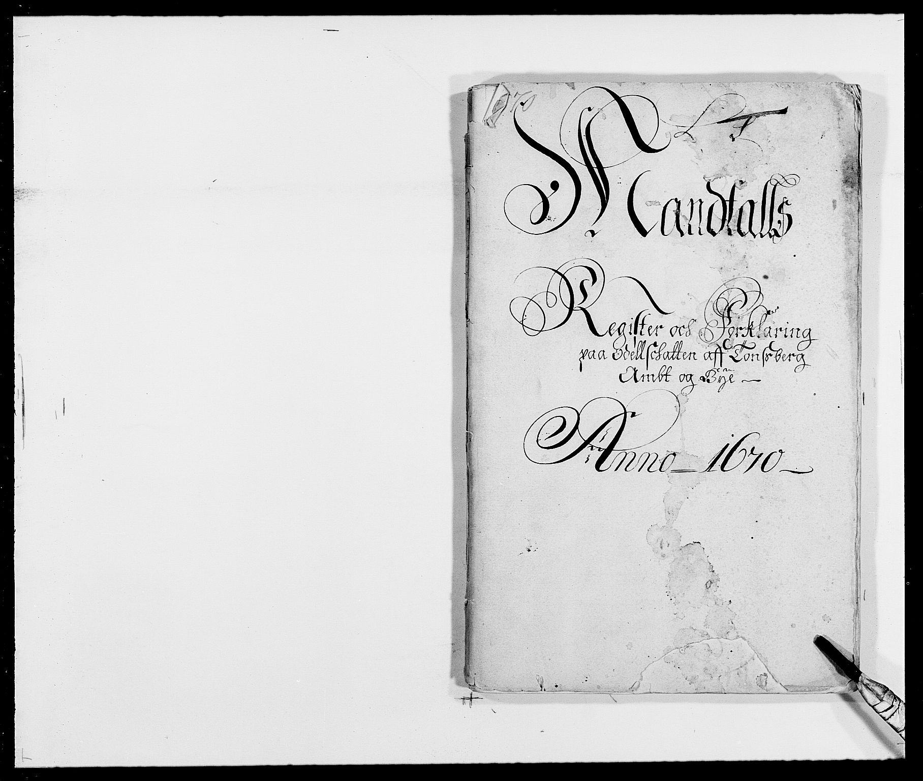 RA, Rentekammeret inntil 1814, Reviderte regnskaper, Fogderegnskap, R32/L1841: Fogderegnskap Jarlsberg grevskap, 1664-1673, s. 1
