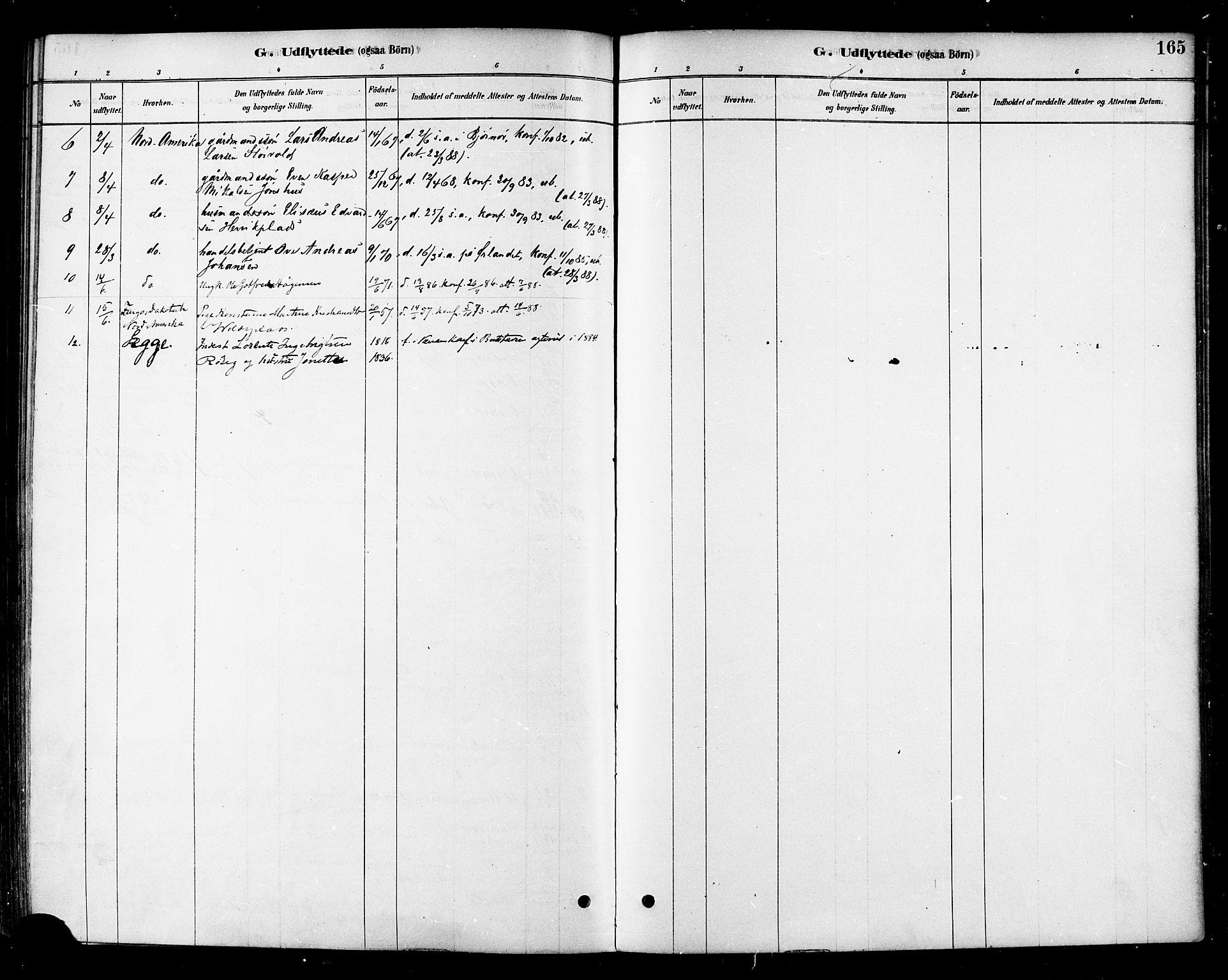 SAT, Ministerialprotokoller, klokkerbøker og fødselsregistre - Nord-Trøndelag, 741/L0395: Ministerialbok nr. 741A09, 1878-1888, s. 165