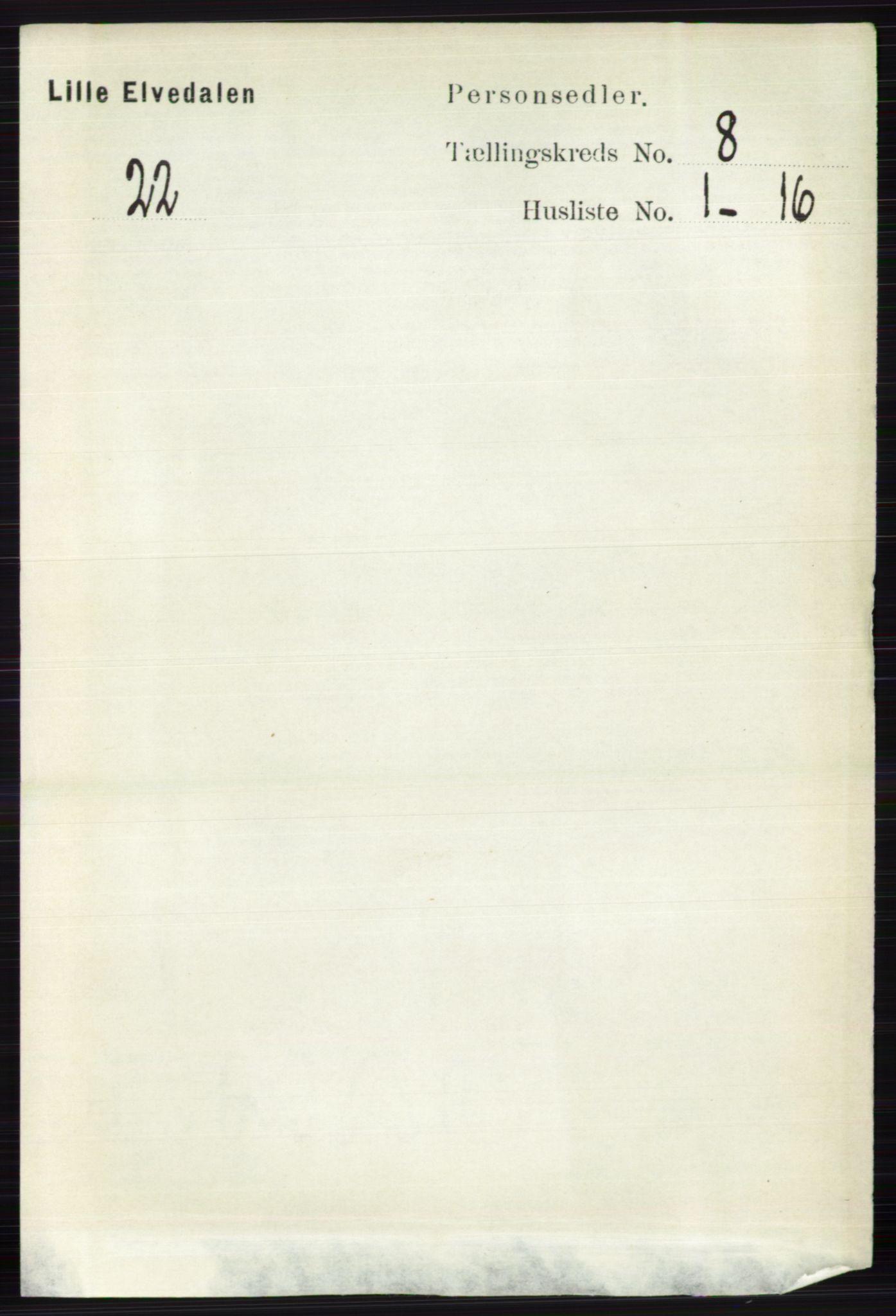 RA, Folketelling 1891 for 0438 Lille Elvedalen herred, 1891, s. 2467