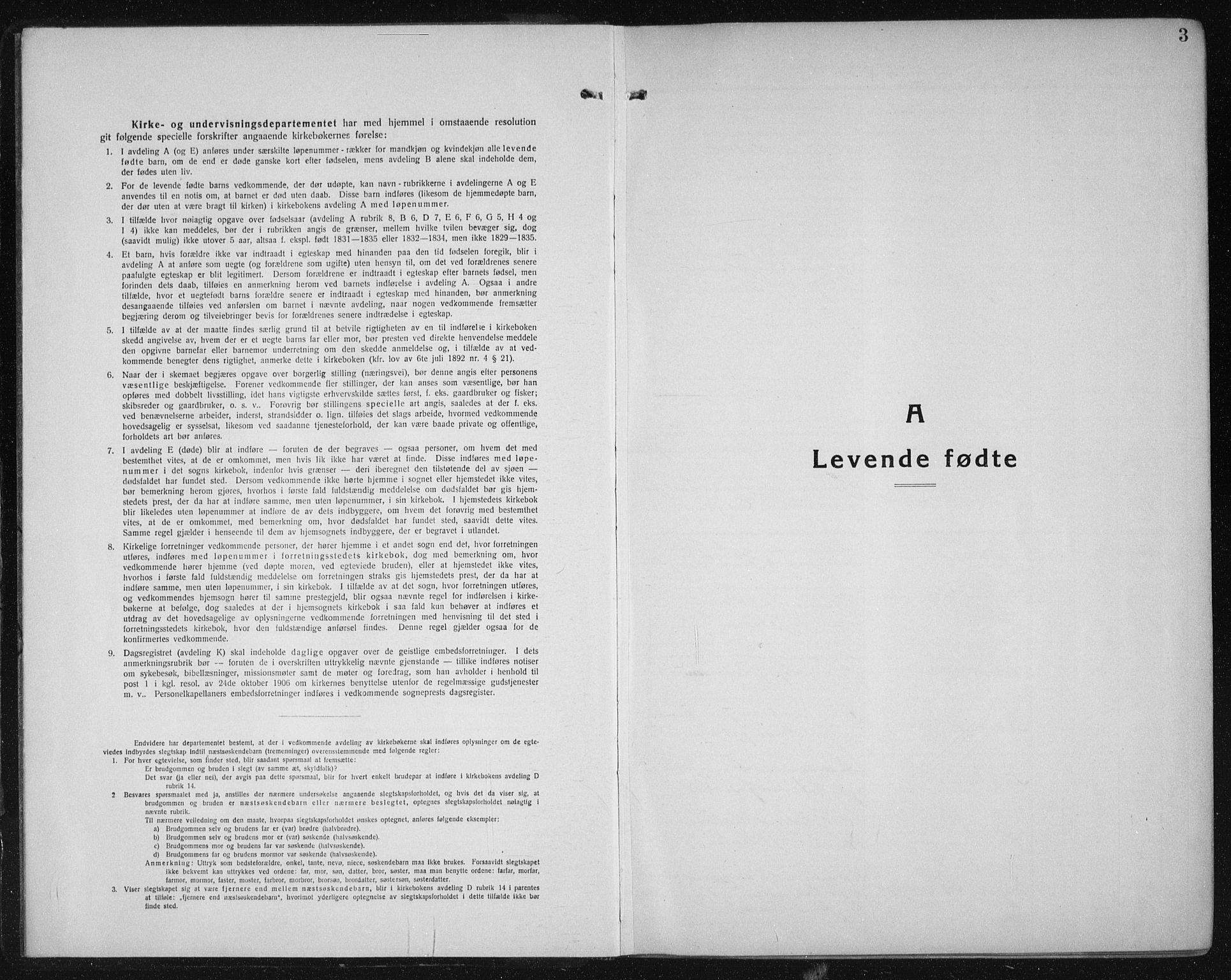 SAT, Ministerialprotokoller, klokkerbøker og fødselsregistre - Sør-Trøndelag, 605/L0259: Klokkerbok nr. 605C06, 1920-1937, s. 3
