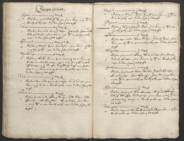 RA, Stattholderembetet 1572-1771, Ek/L0005: Jordebøker til utlikning av garnisonsskatt 1624-1626:, 1626, s. 192