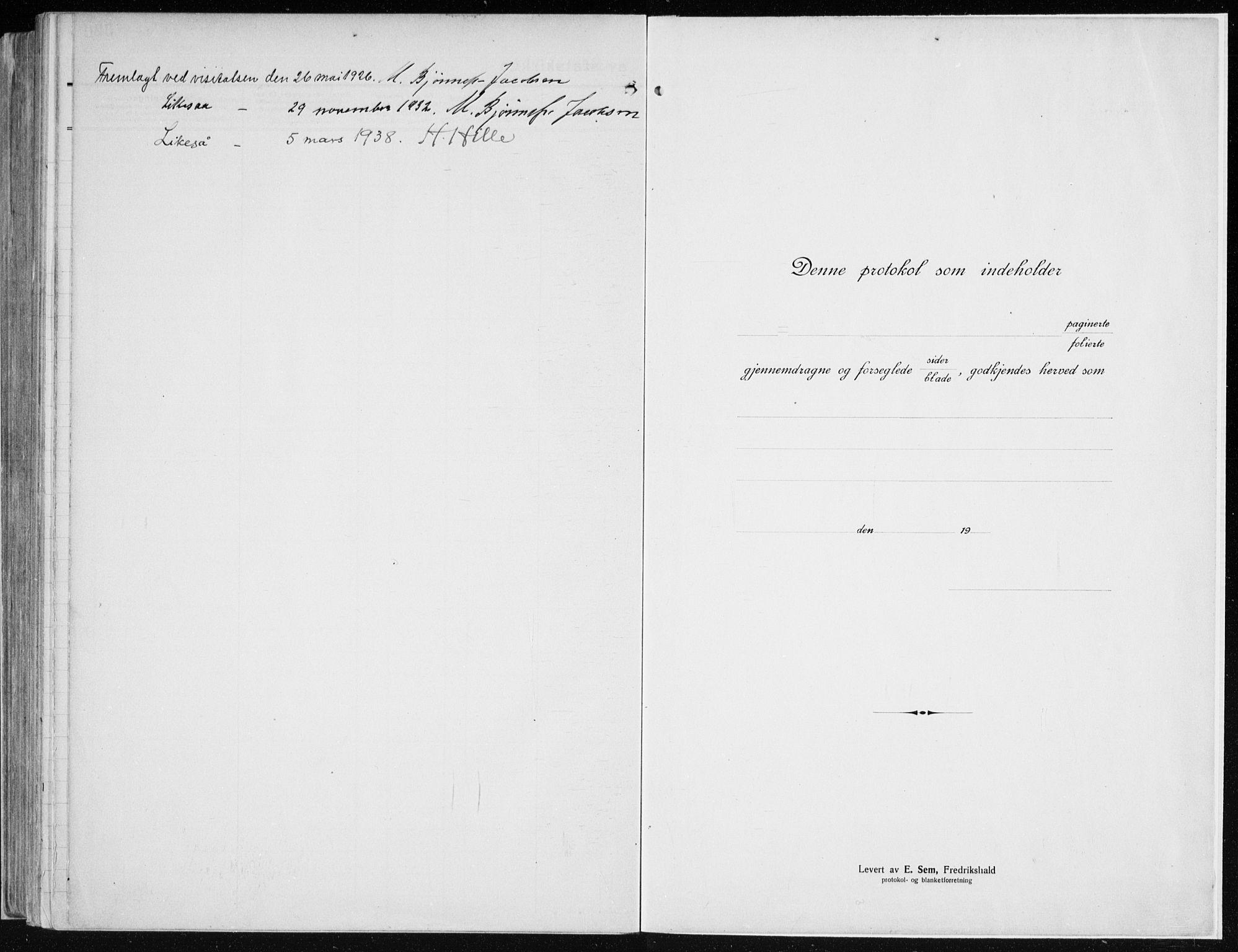 SAH, Vardal prestekontor, H/Ha/Haa/L0015: Ministerialbok nr. 15, 1923-1937
