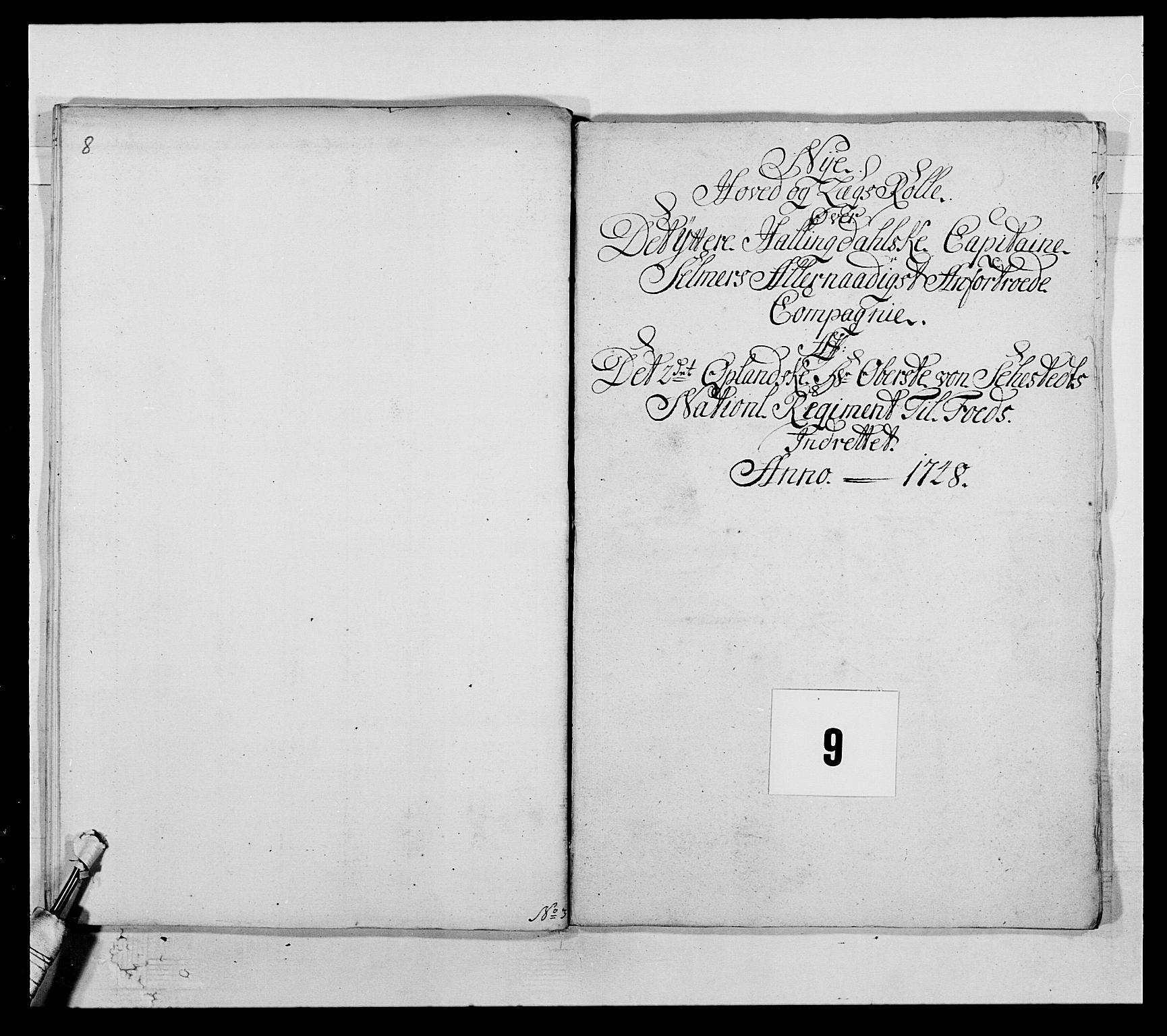 RA, Kommanderende general (KG I) med Det norske krigsdirektorium, E/Ea/L0505: 2. Opplandske regiment, 1748, s. 247
