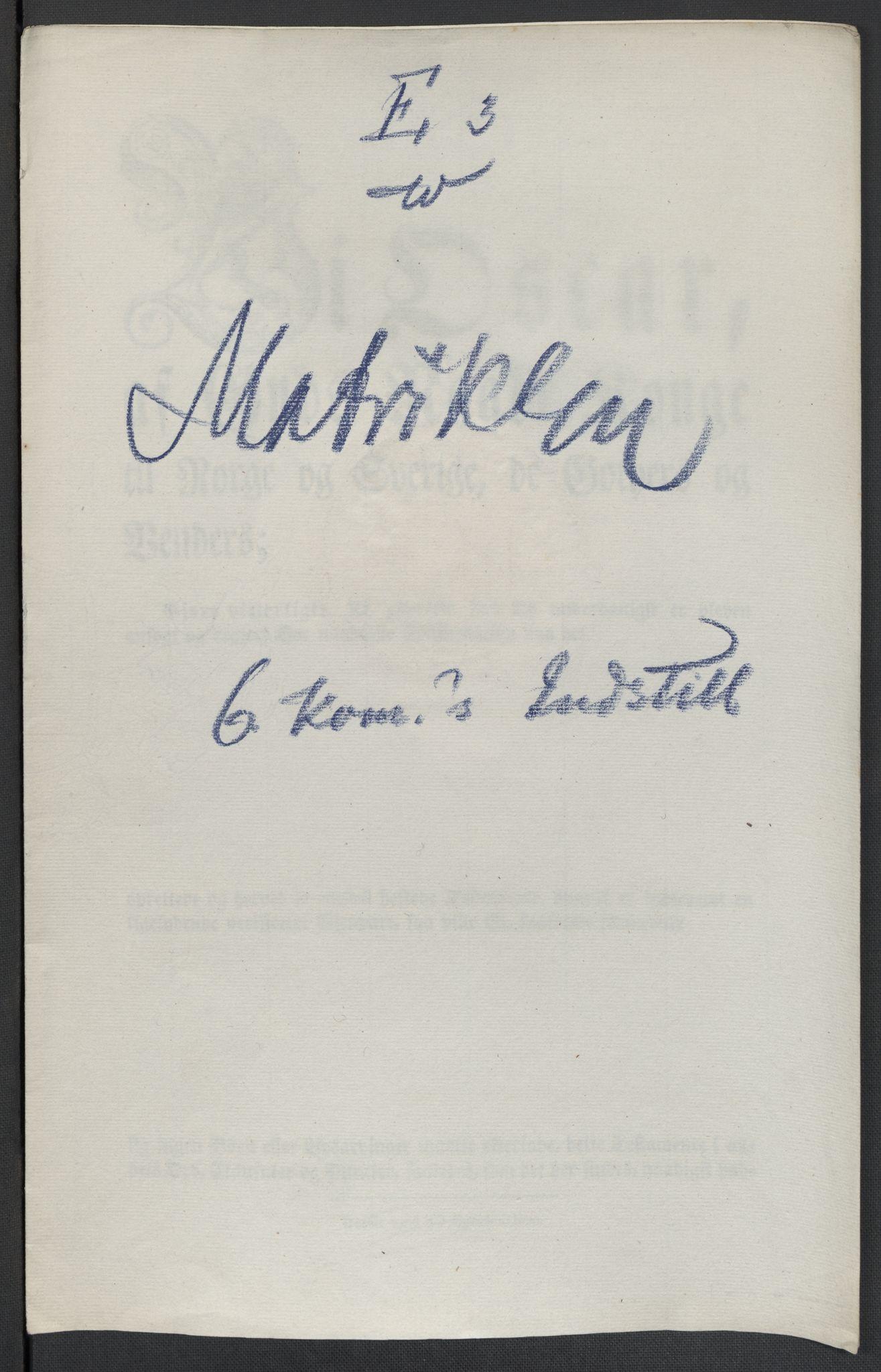 RA, Christie, Wilhelm Frimann Koren, F/L0005, 1815-1816, s. 602