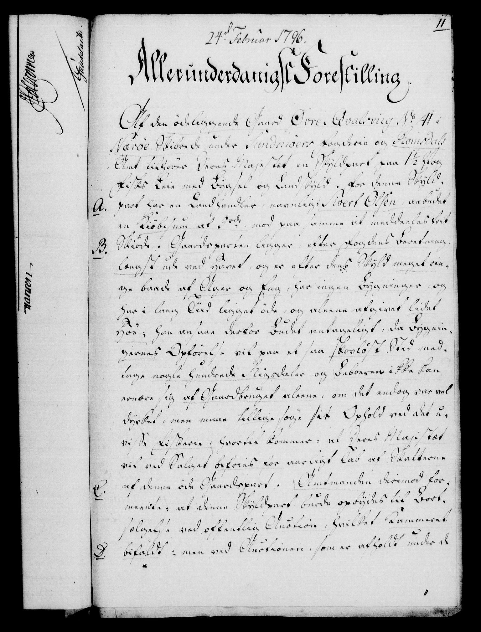 RA, Rentekammeret, Kammerkanselliet, G/Gf/Gfa/L0078: Norsk relasjons- og resolusjonsprotokoll (merket RK 52.78), 1796, s. 79