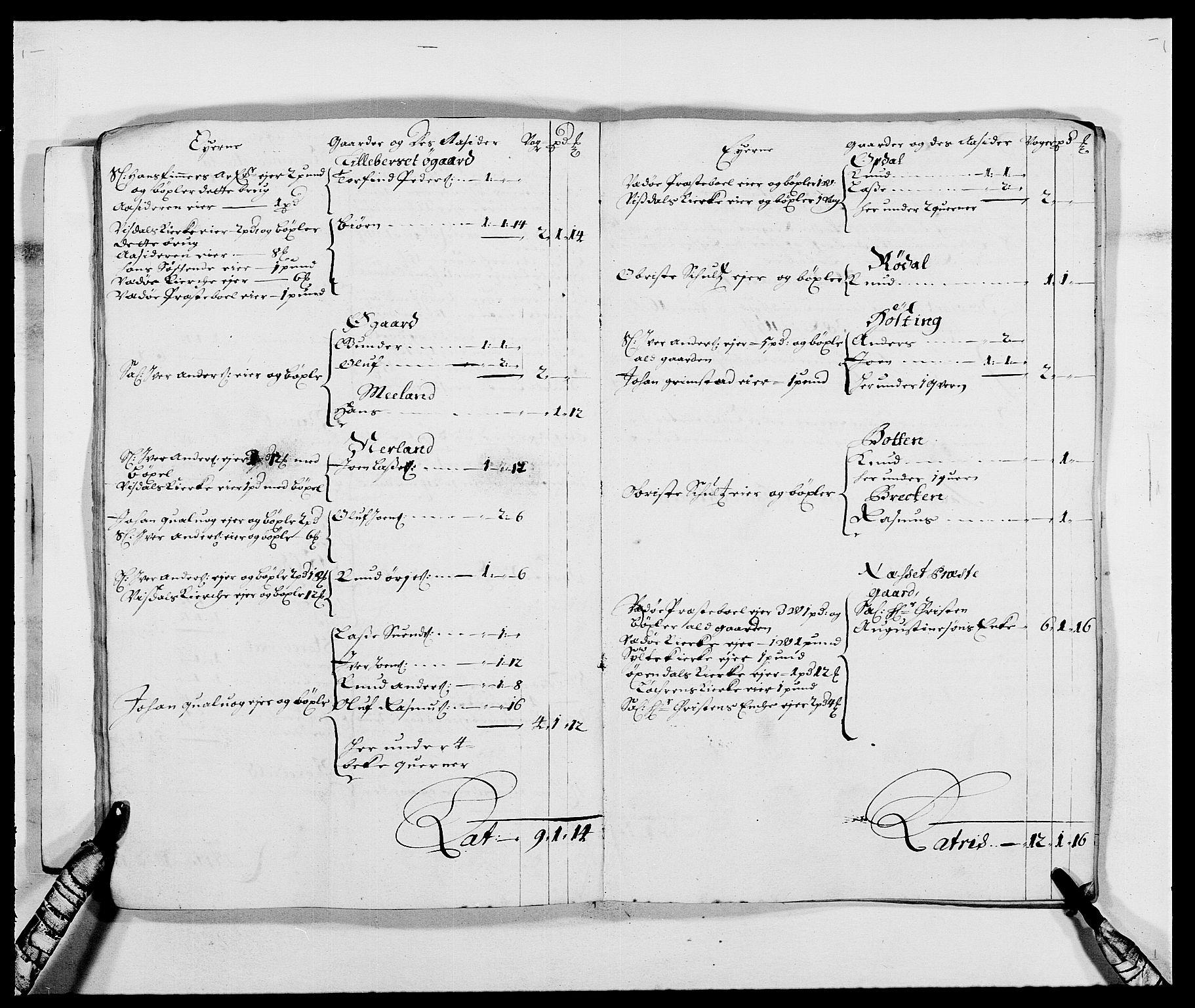 RA, Rentekammeret inntil 1814, Reviderte regnskaper, Fogderegnskap, R55/L3648: Fogderegnskap Romsdal, 1687-1689, s. 18