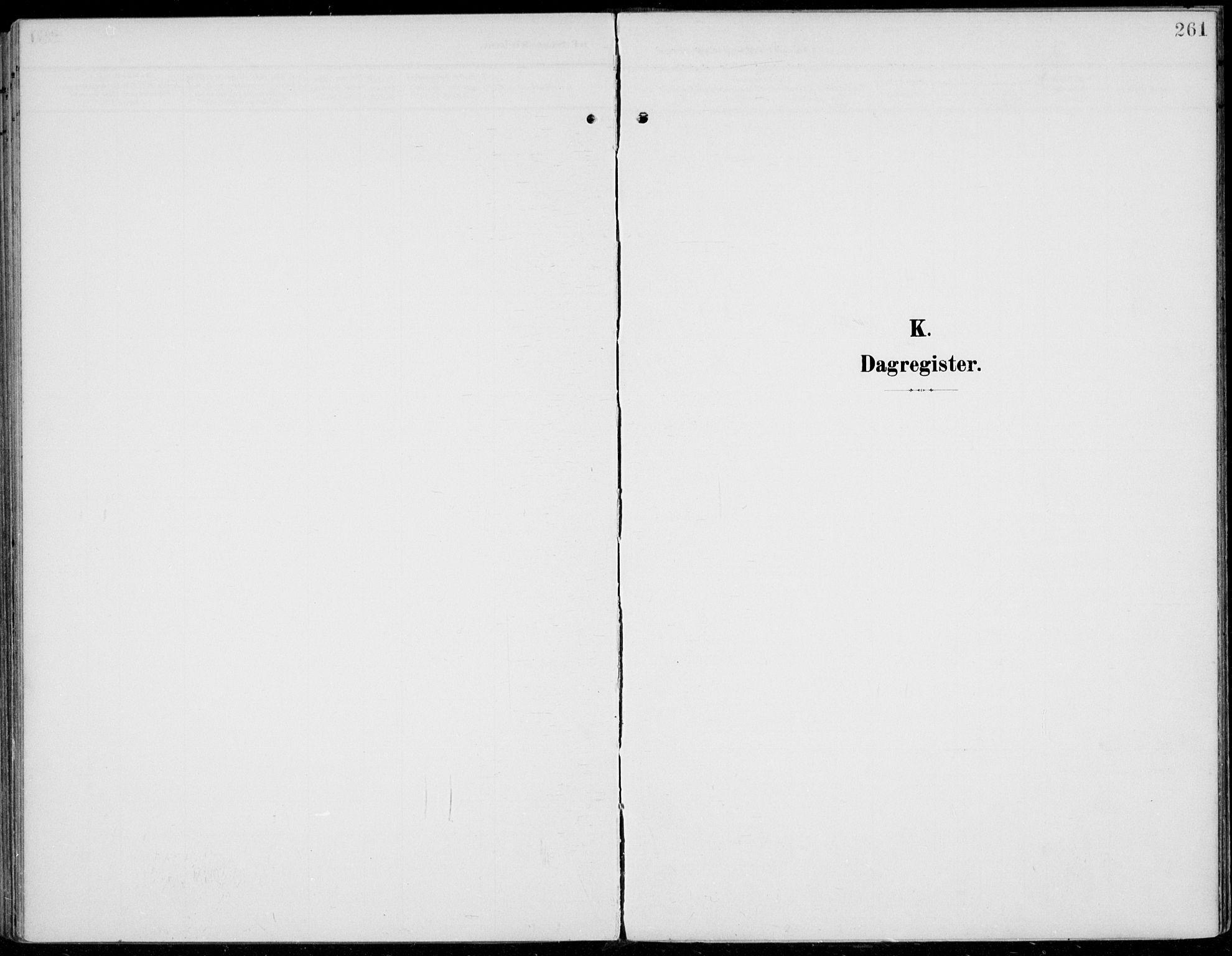 SAH, Jevnaker prestekontor, Ministerialbok nr. 11, 1902-1913, s. 261