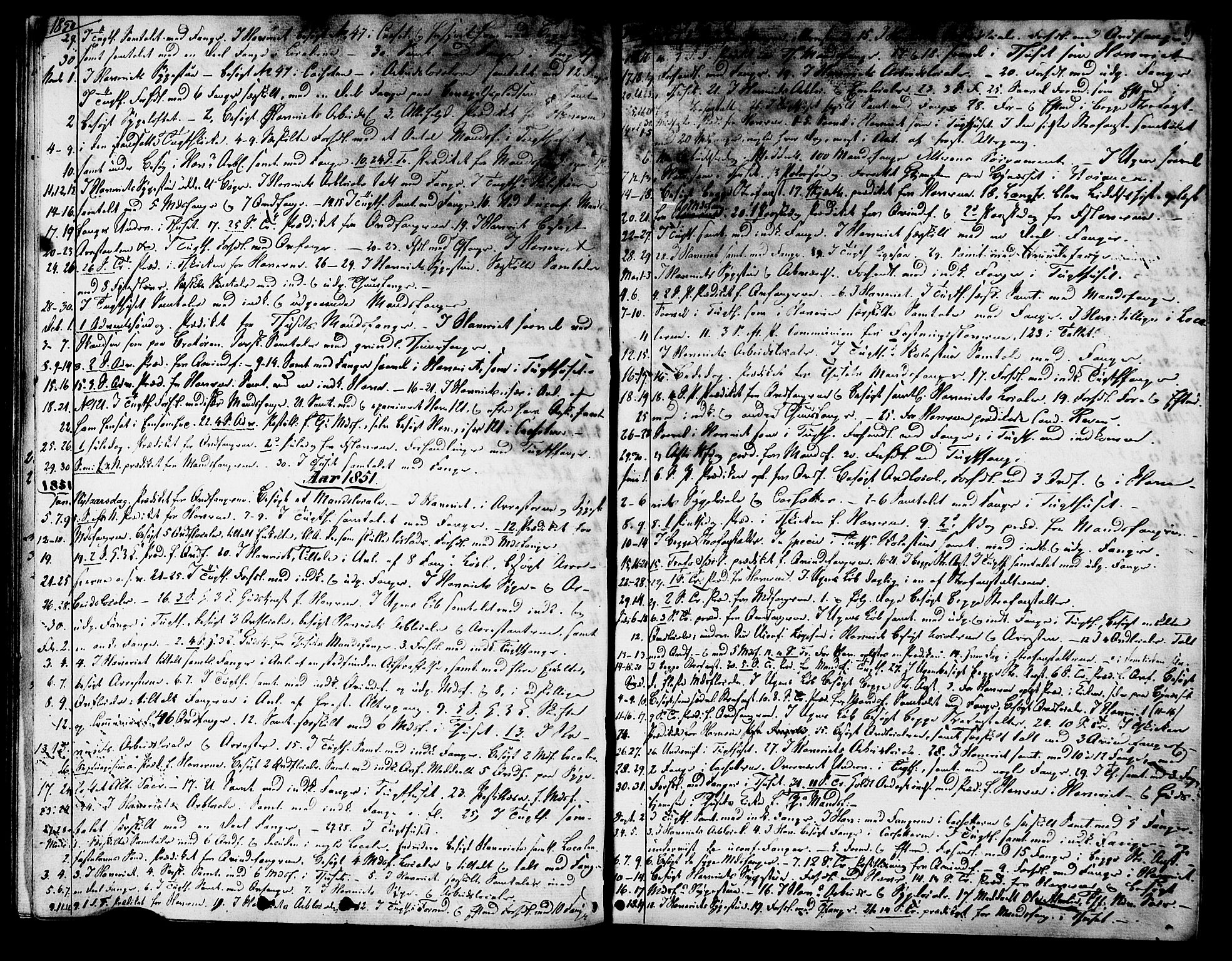 SAT, Ministerialprotokoller, klokkerbøker og fødselsregistre - Sør-Trøndelag, 624/L0480: Ministerialbok nr. 624A01, 1841-1864, s. 67