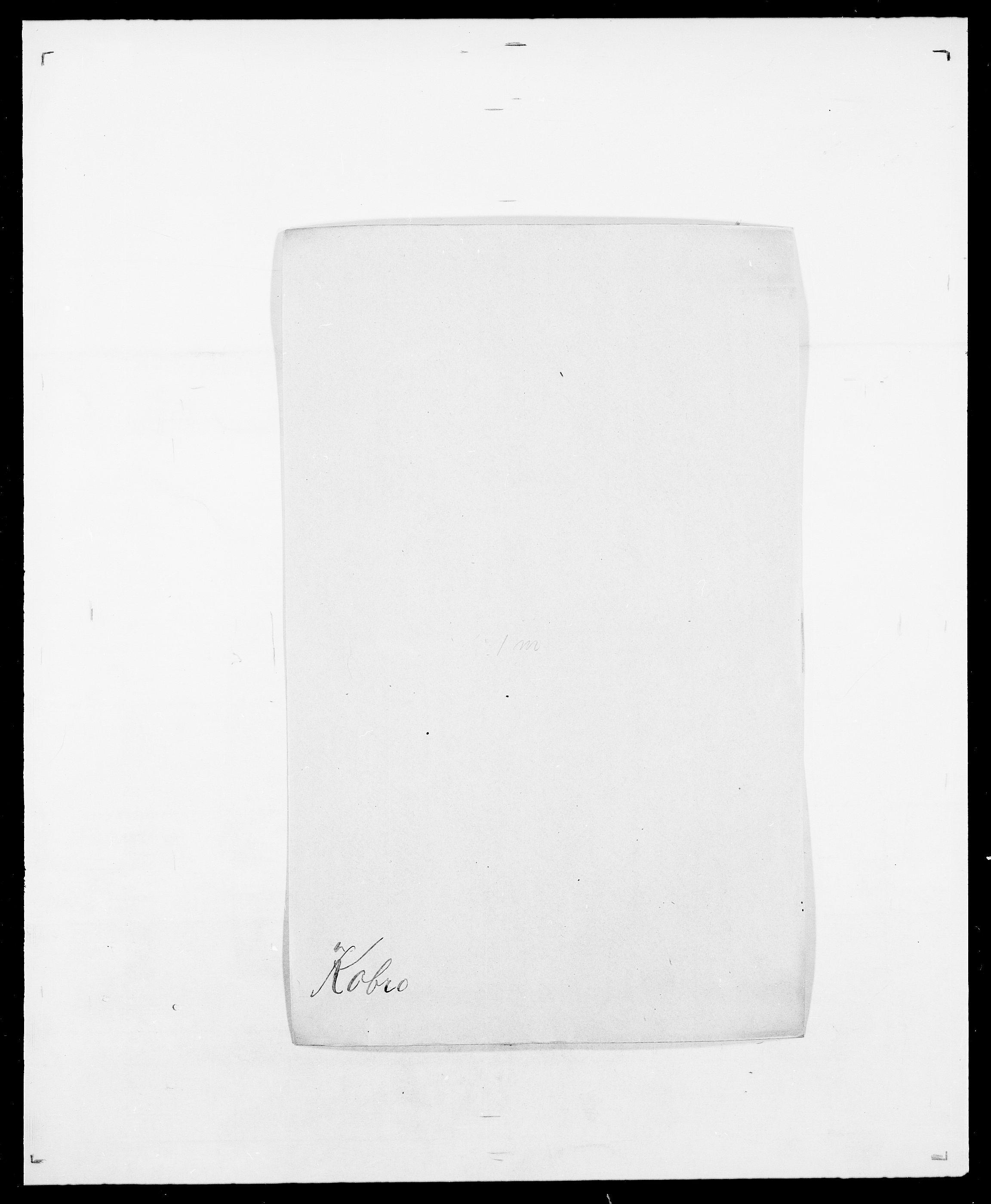 SAO, Delgobe, Charles Antoine - samling, D/Da/L0021: Klagenberg - Kristoft, s. 409