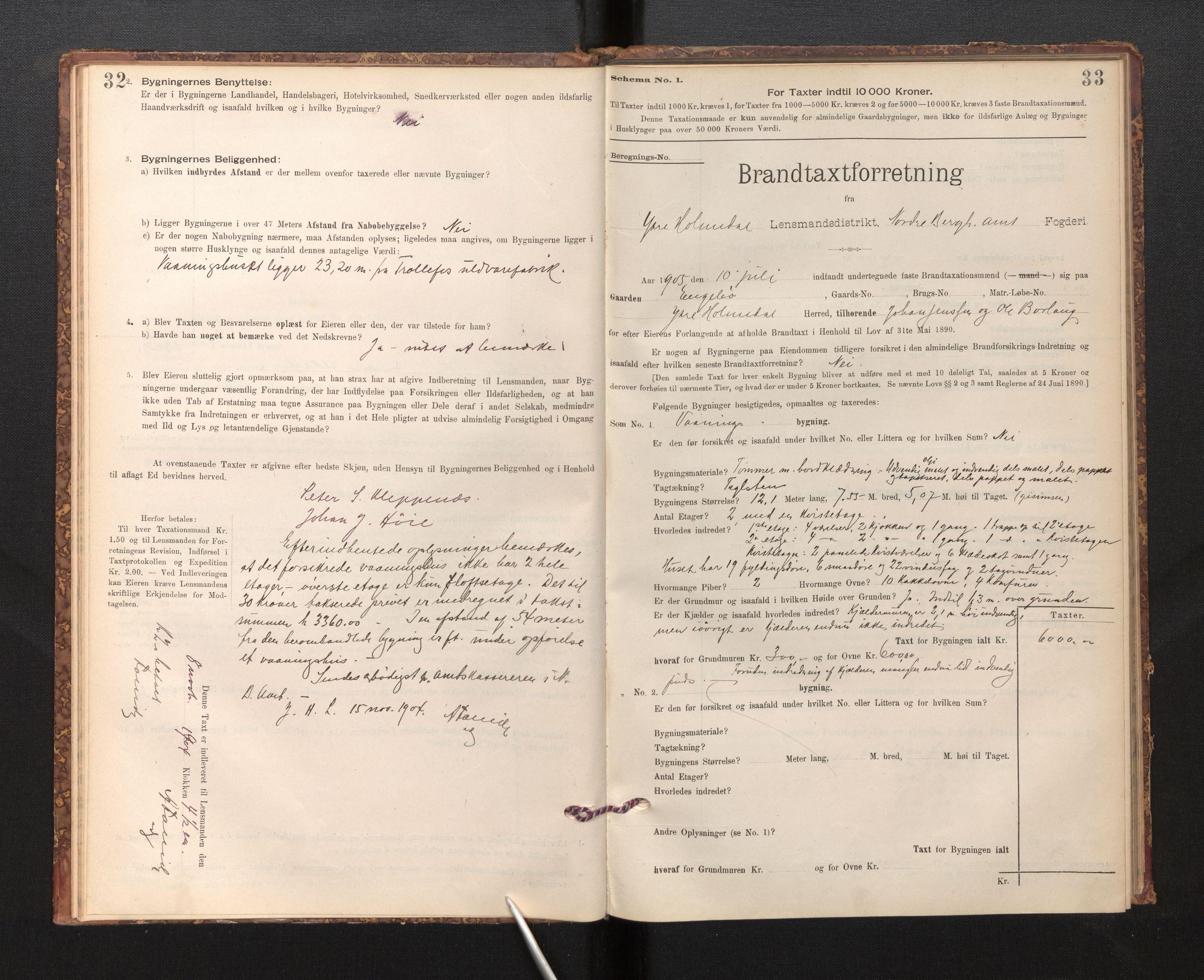 SAB, Lensmannen i Fjaler, 0012, 1895-1937, s. 32-33